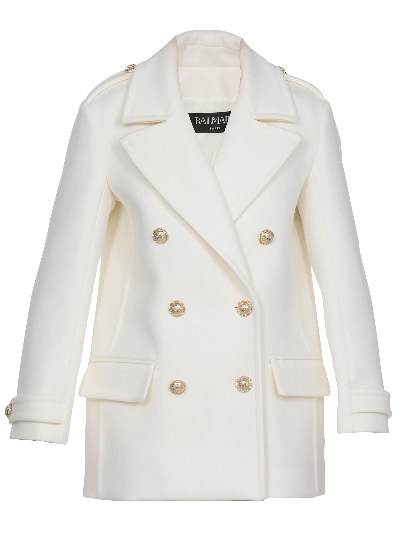 Balmain Virgin Wool Coat