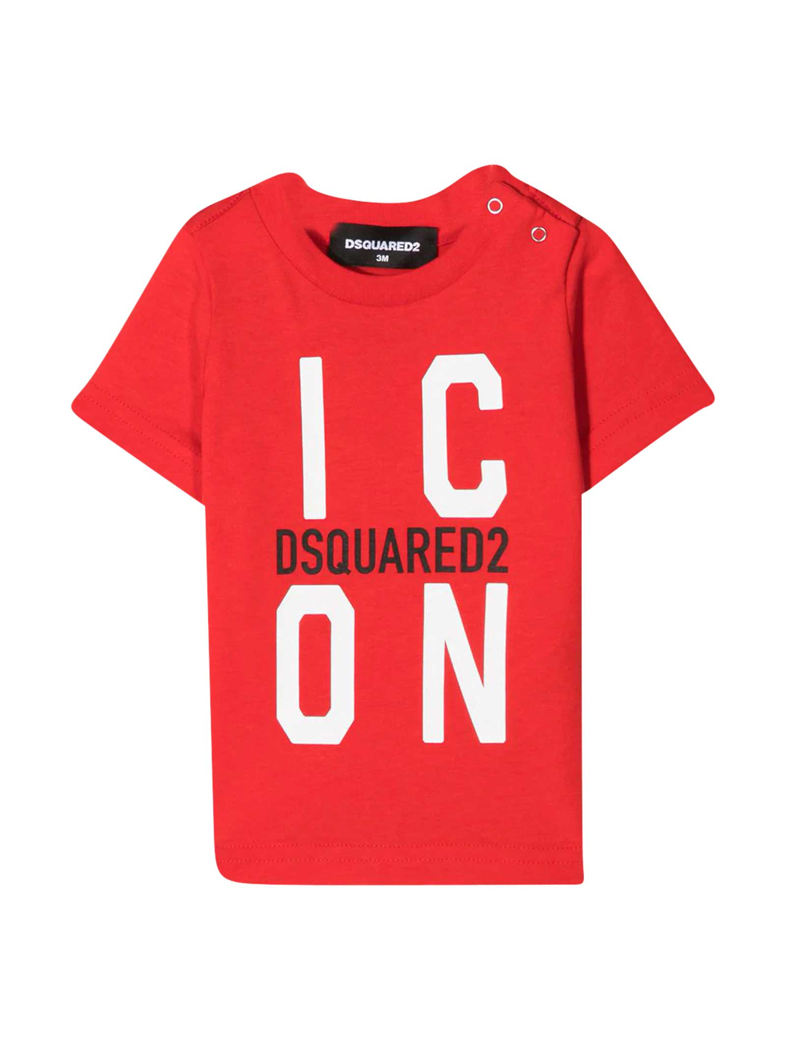 Dsquared2 RED T-SHIRT