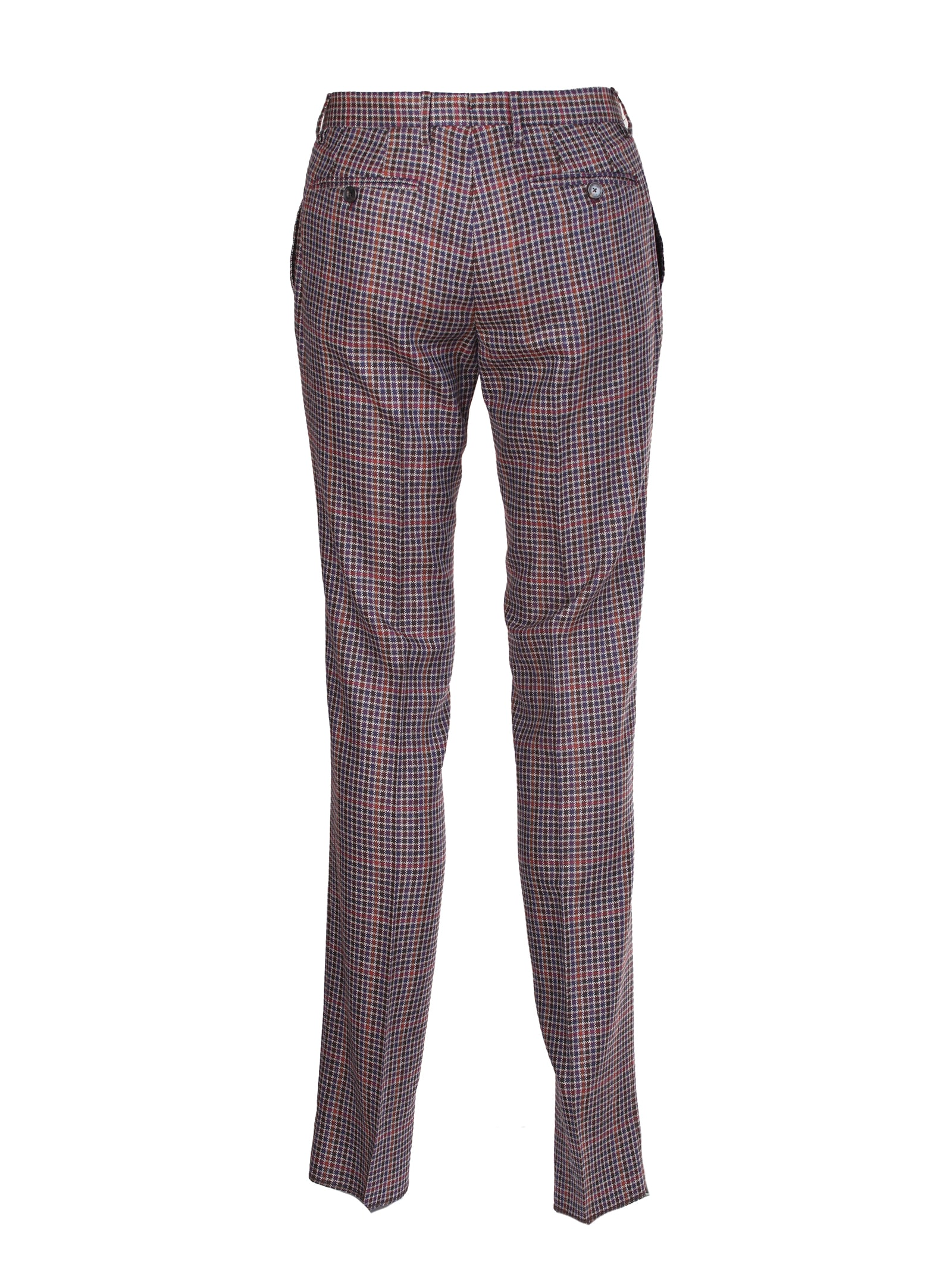 Recommend Cheap Etro Checked Trousers - Top Quality