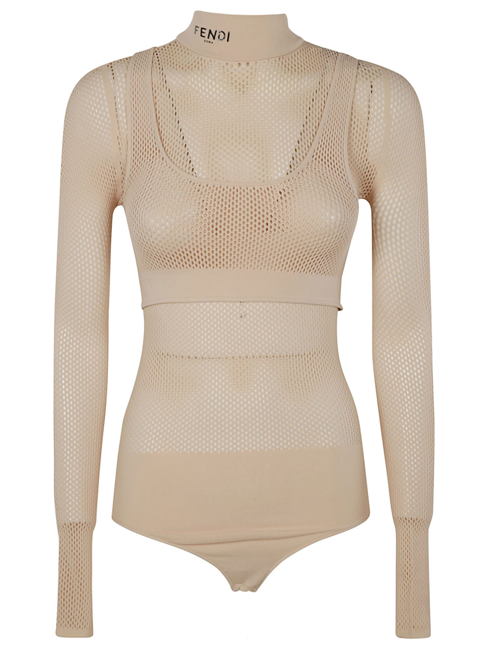 Fendi PERFORATED BODYSUIT