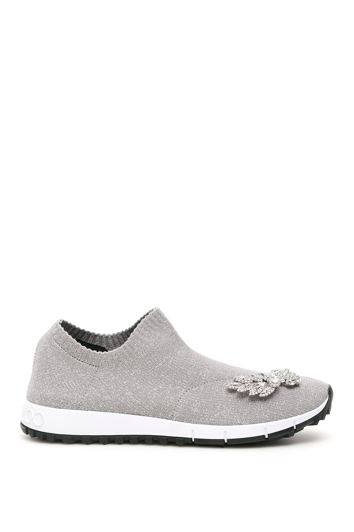 Jimmy Choo Crystal Wings Verona Sock Sneakers
