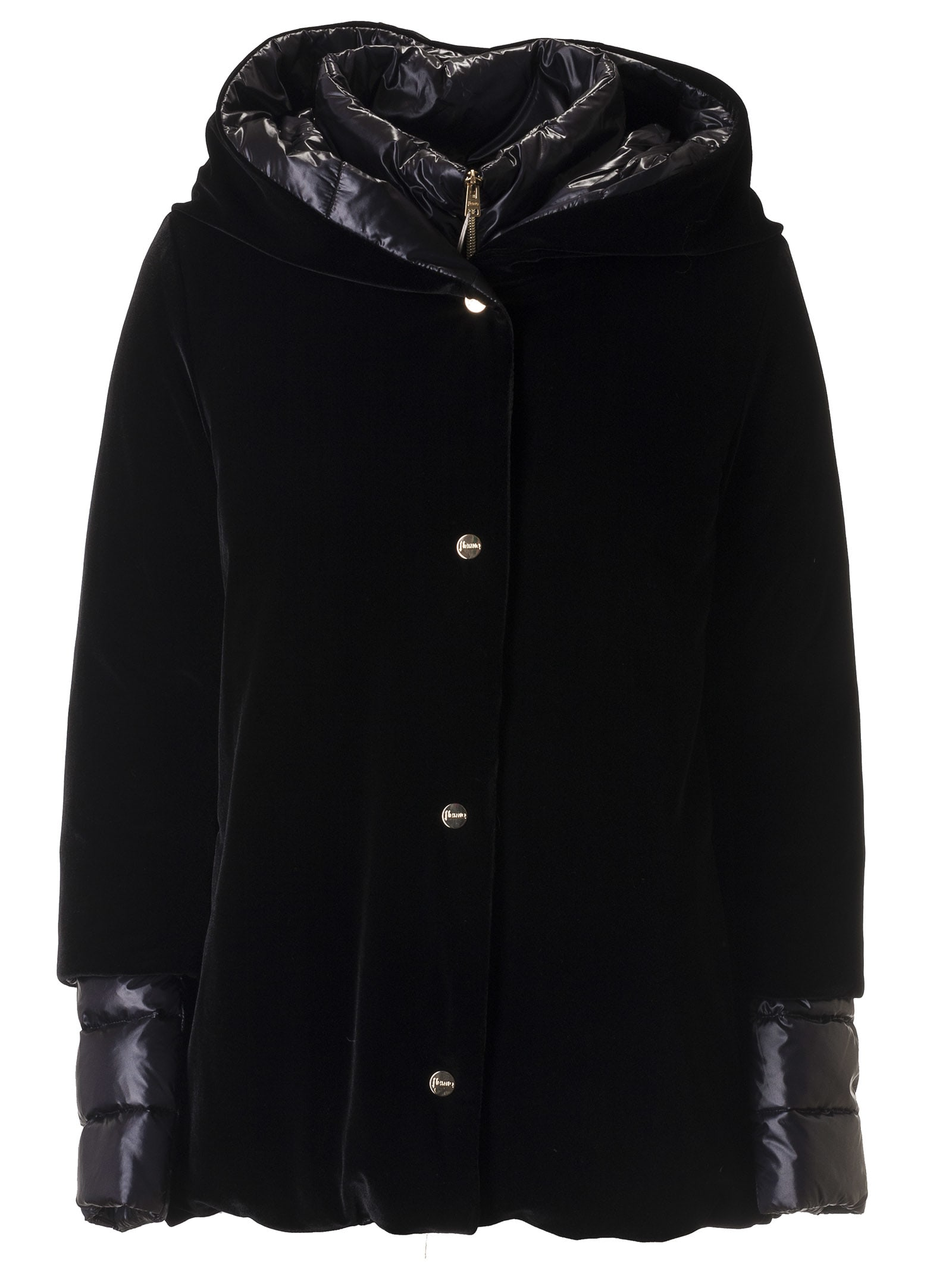 Herno Padded Sleeved Buttoned Jacket