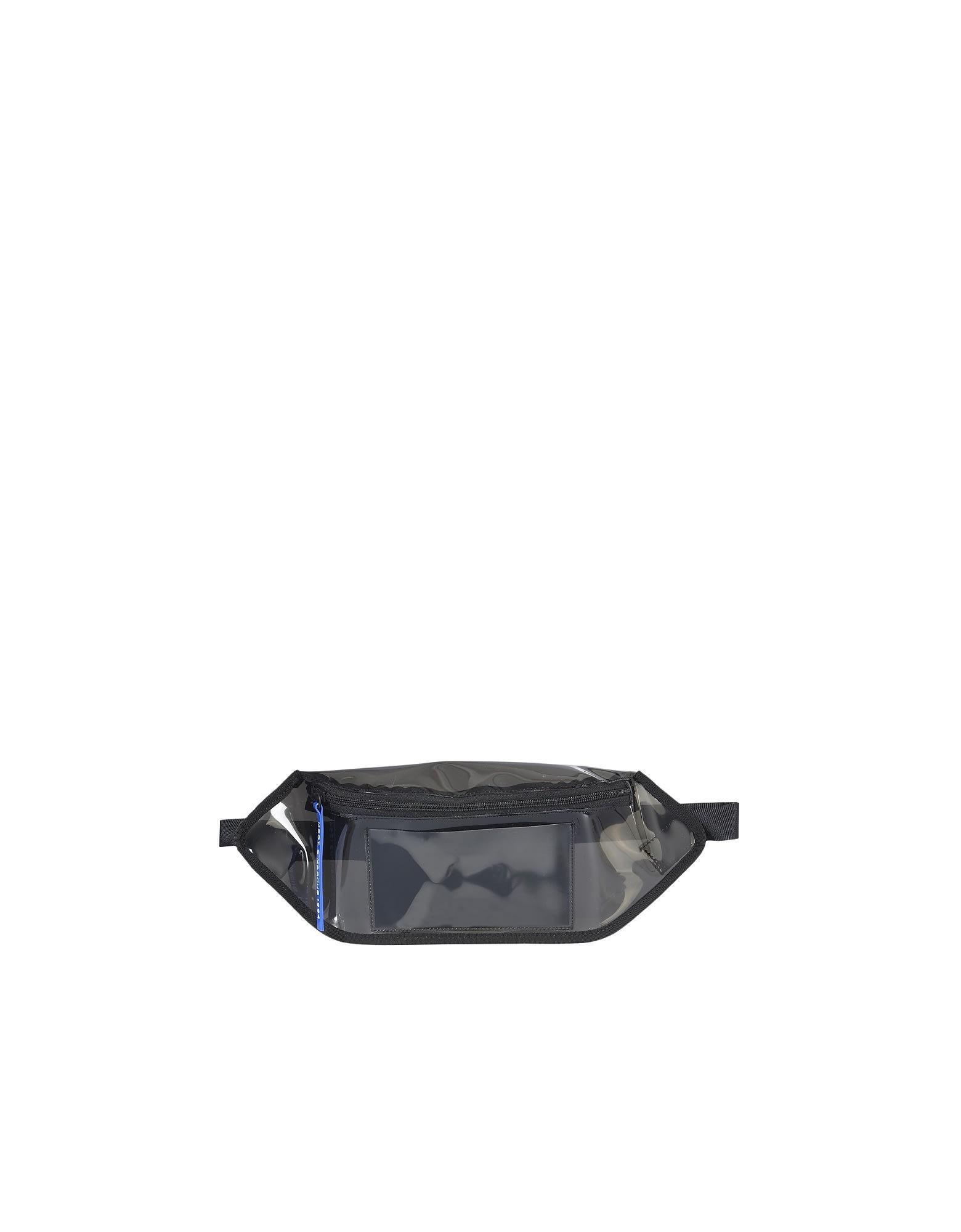 DSQUARED2 TRANSPARENT PVC BELT BAG