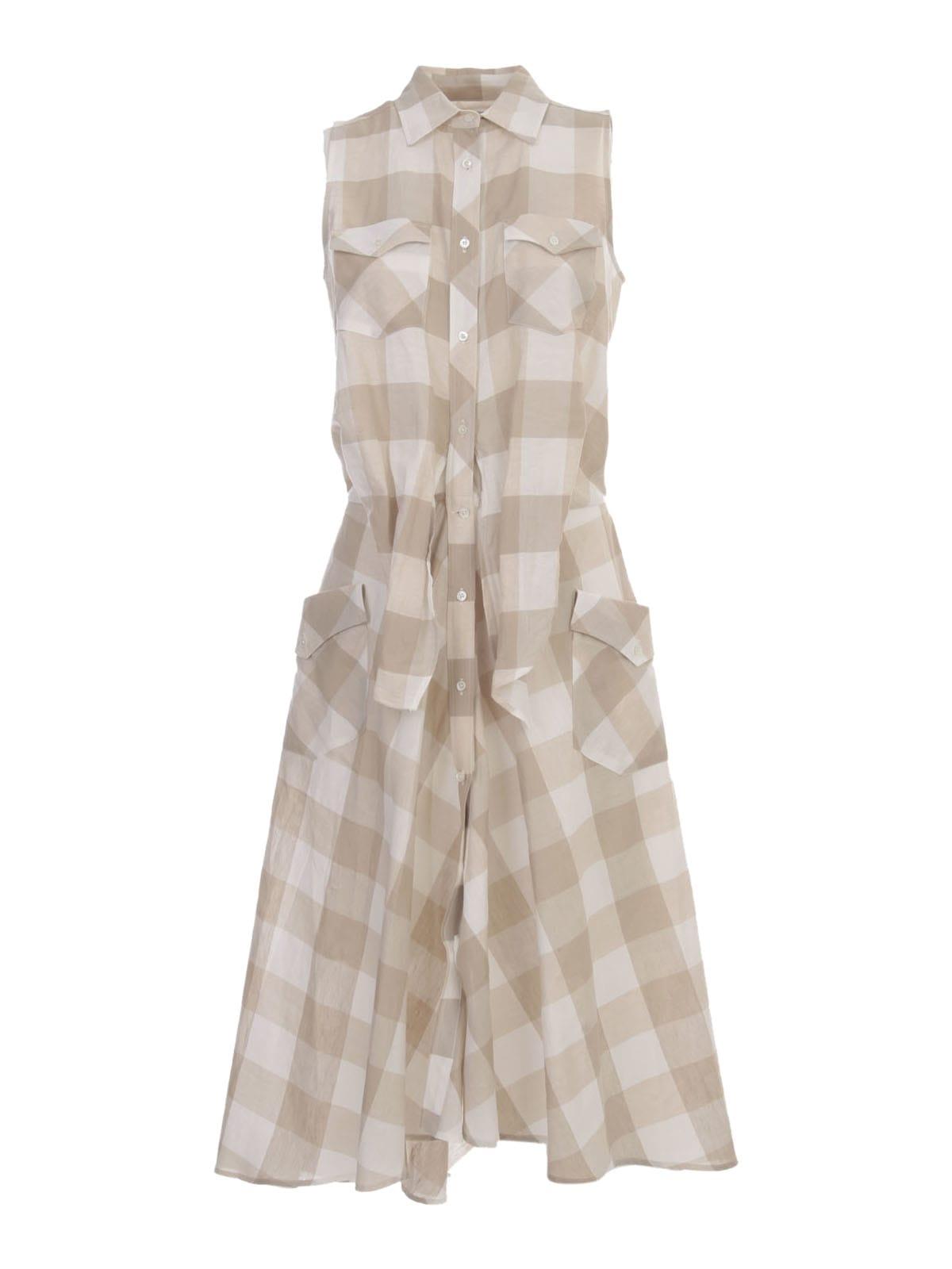 Buy Sara Roka Cottton Scottish Sleeve Dress online, shop Sara Roka with free shipping