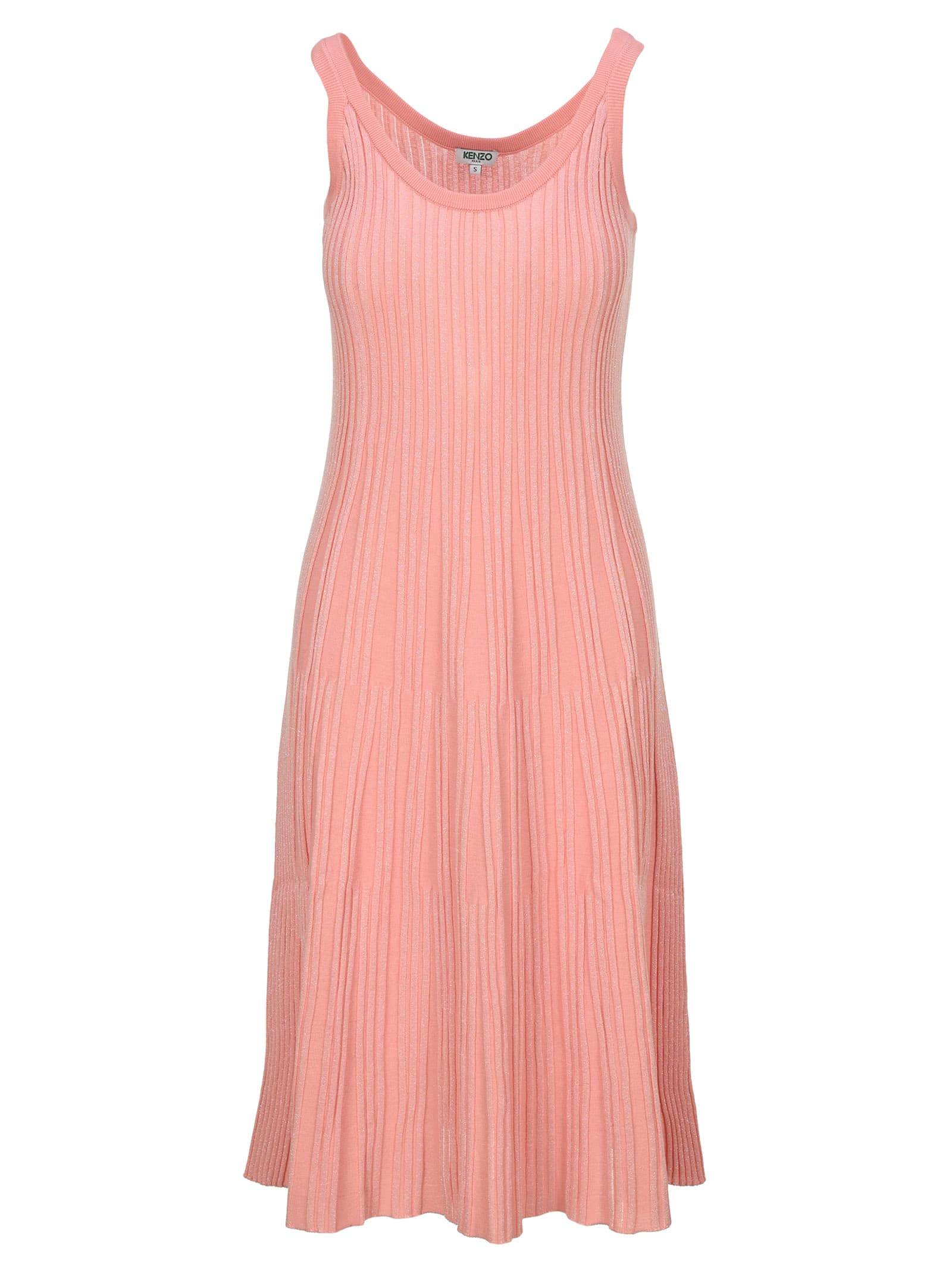 Buy Kenzo Knit Midi Dress online, shop Kenzo with free shipping