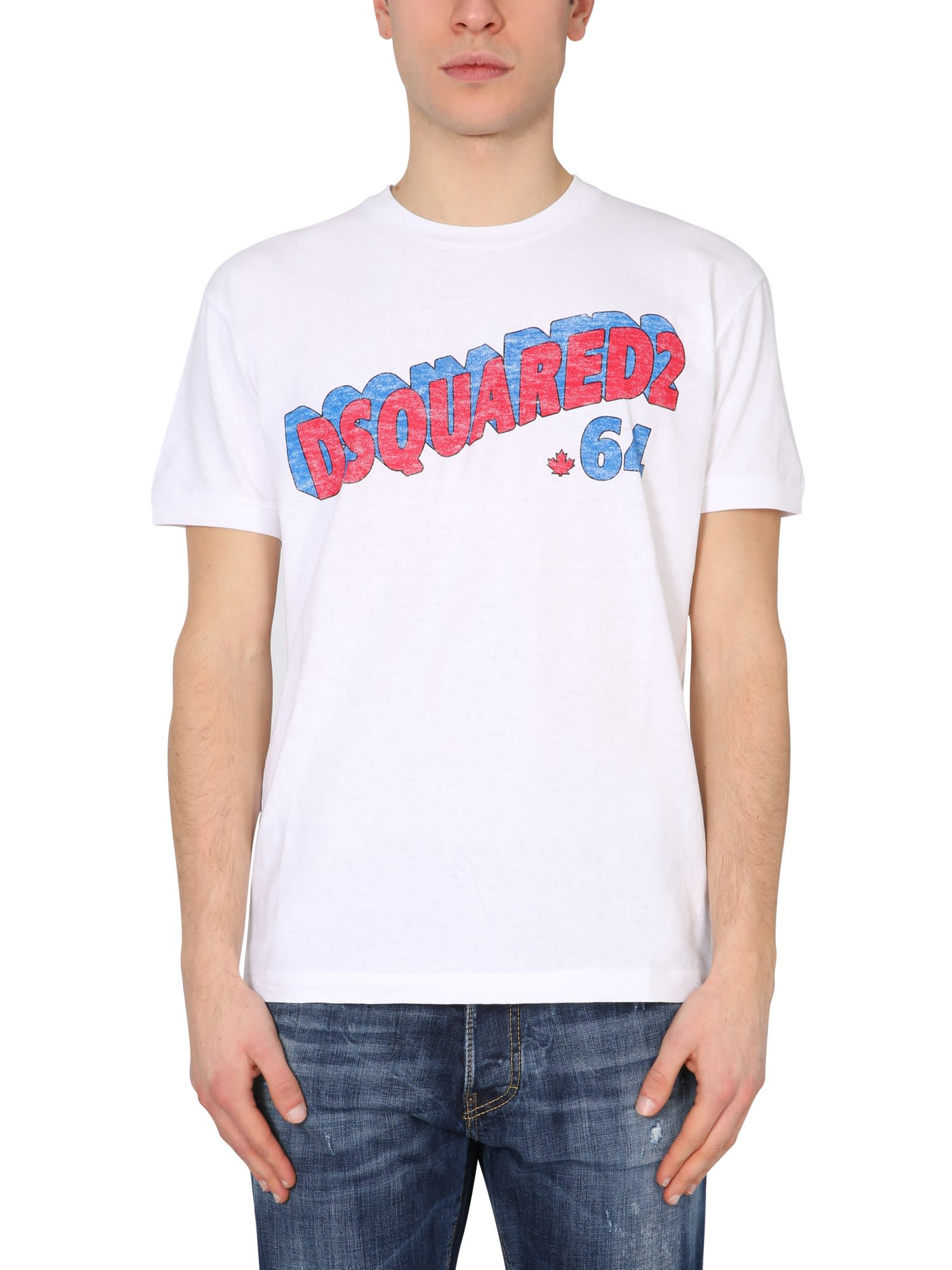 Dsquared2 T-shirts RETRO 64 T-SHIRT