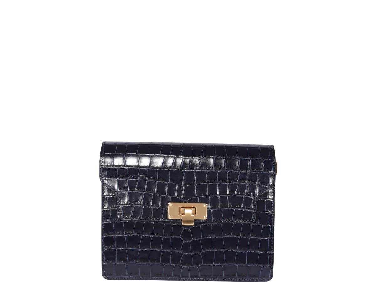 Marge Sherwood Vintage Brick Bag In Blue