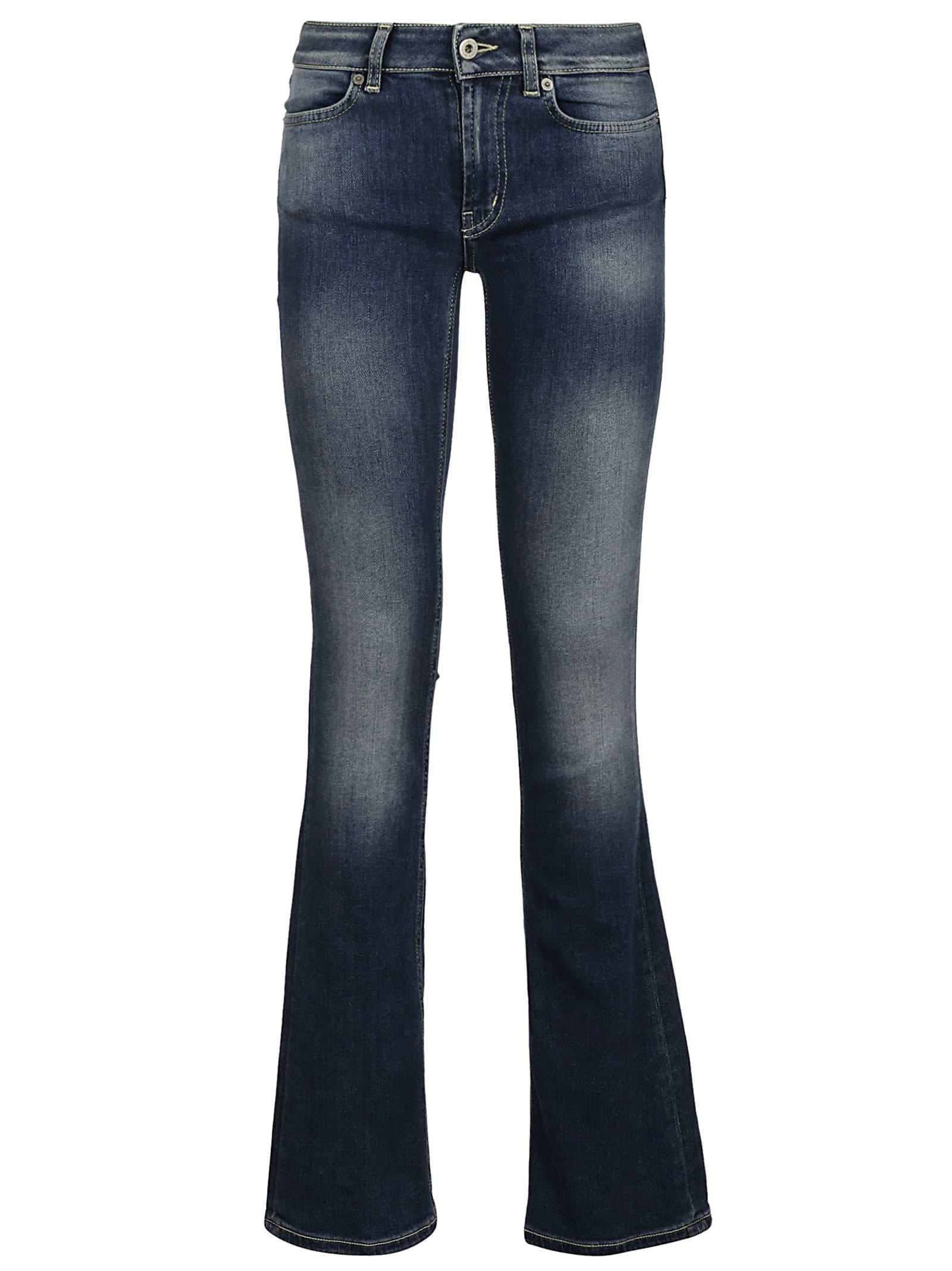 Dondup Flared Leg Long Jeans