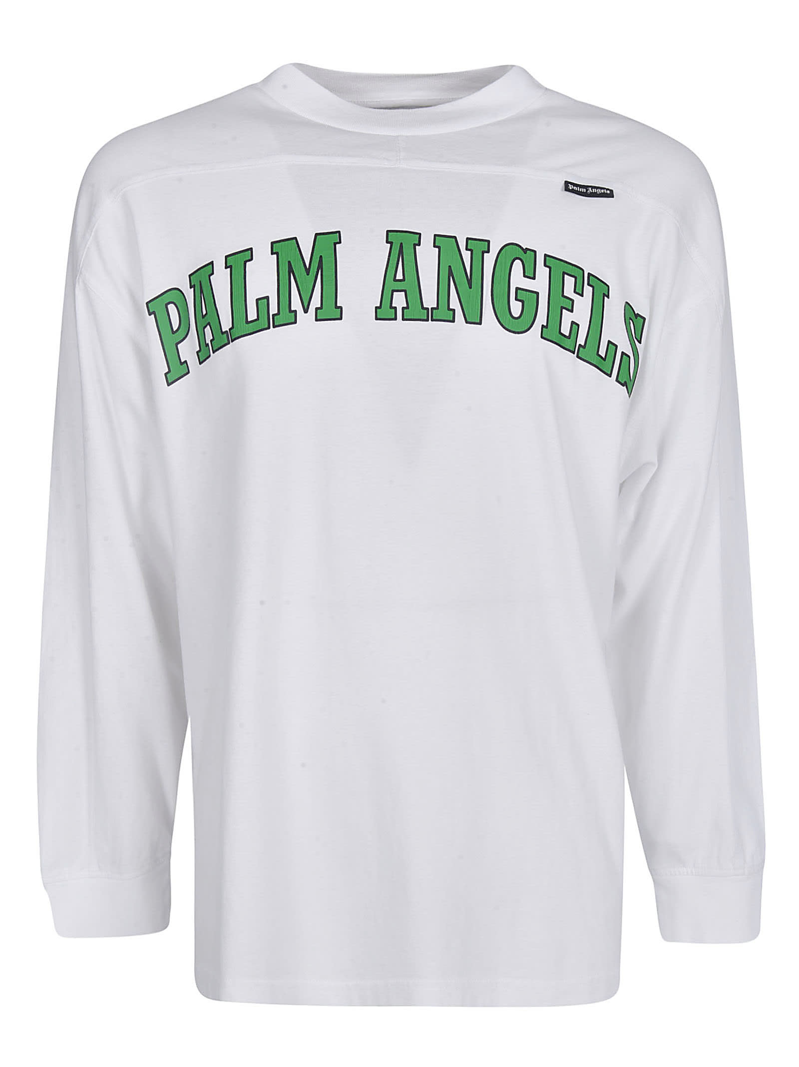 Palm Angels New College Logo Over T-shirt