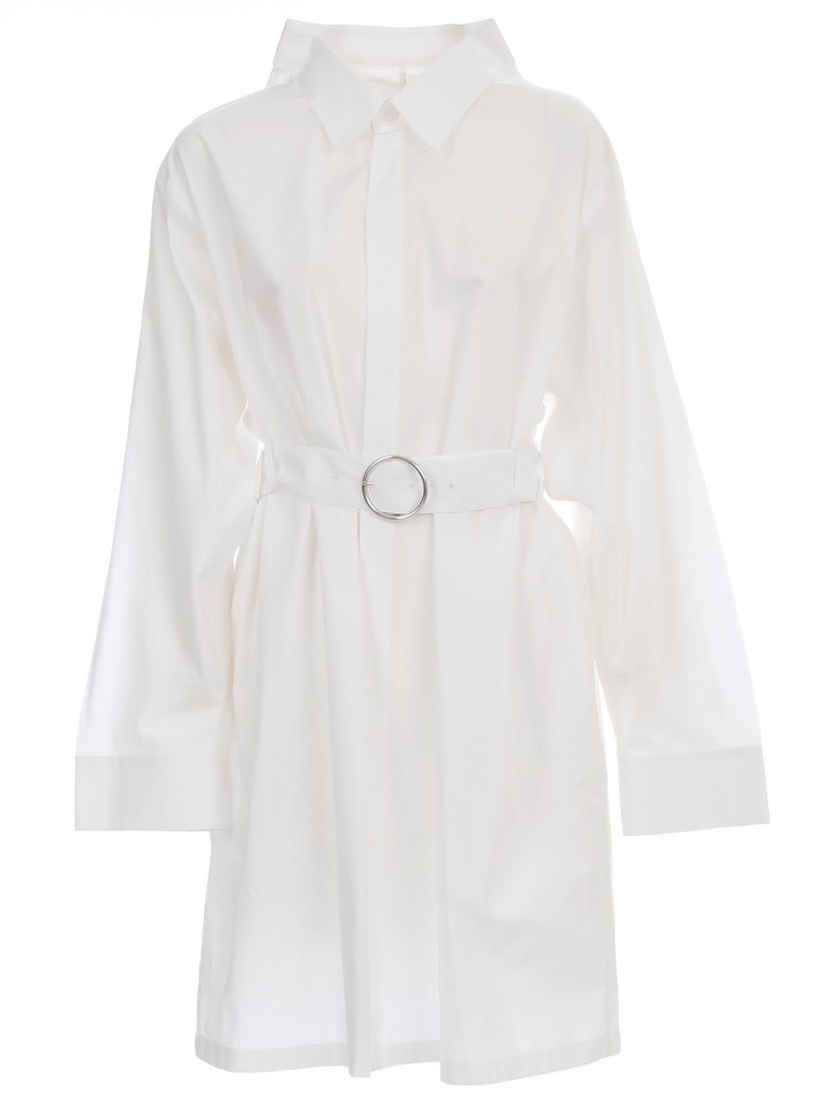 Buy Maison Margiela Dress L/s Cotton Popeline online, shop Maison Margiela with free shipping