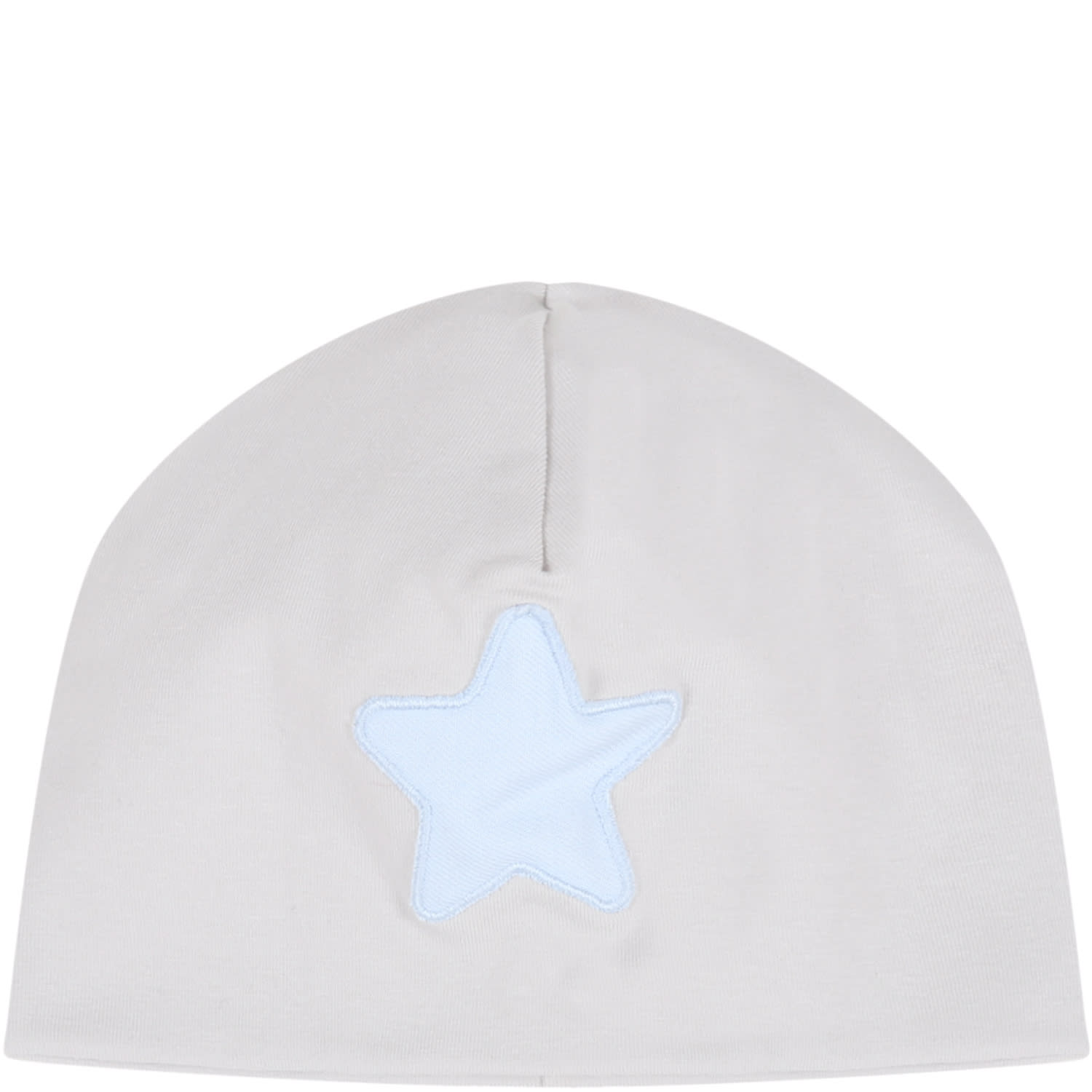 Grey Hat For Baby Boy With Star