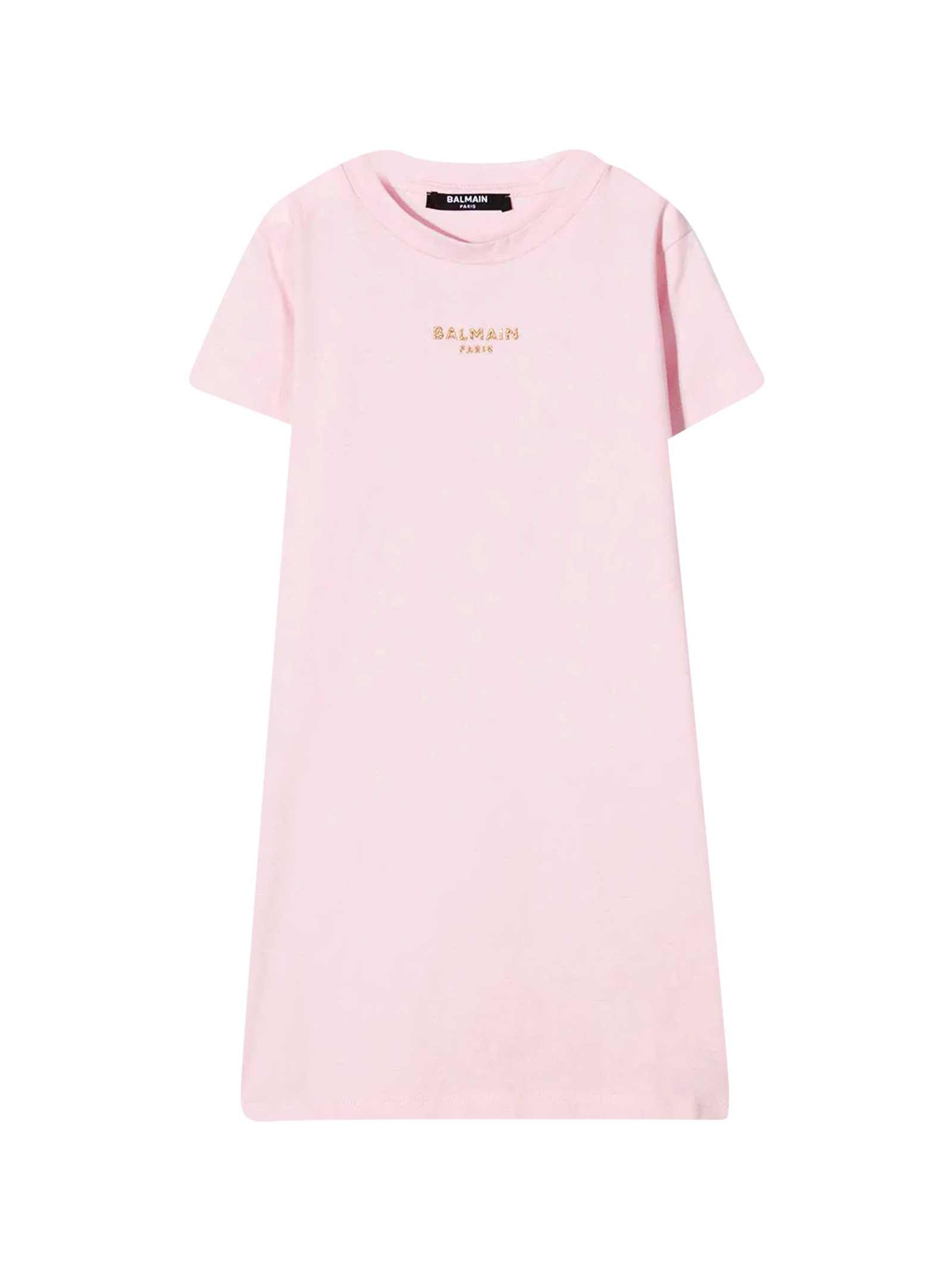 Balmain Cottons PINK DRESS