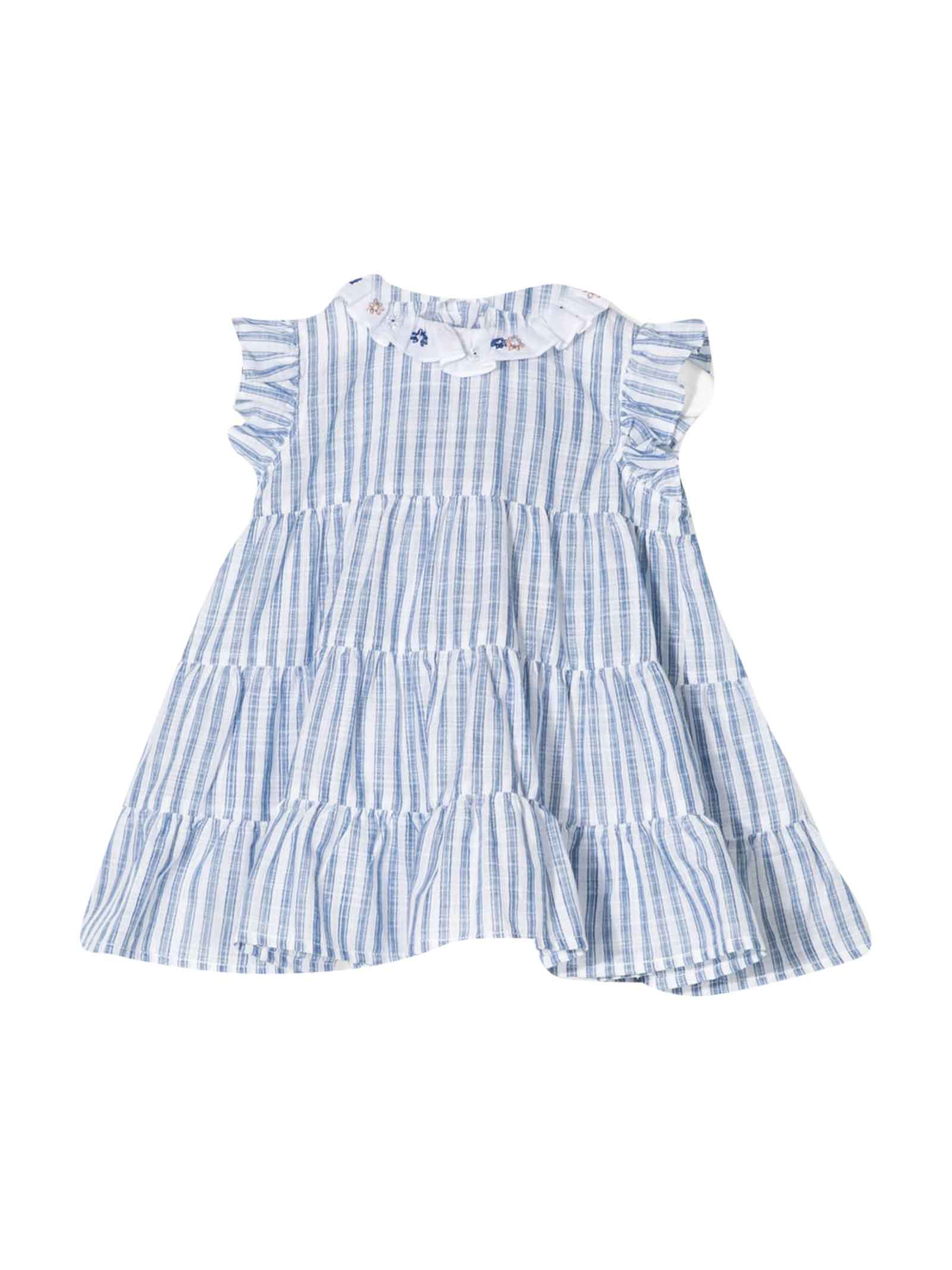 Buy Il Gufo Striped Flared Dress online, shop Il Gufo with free shipping