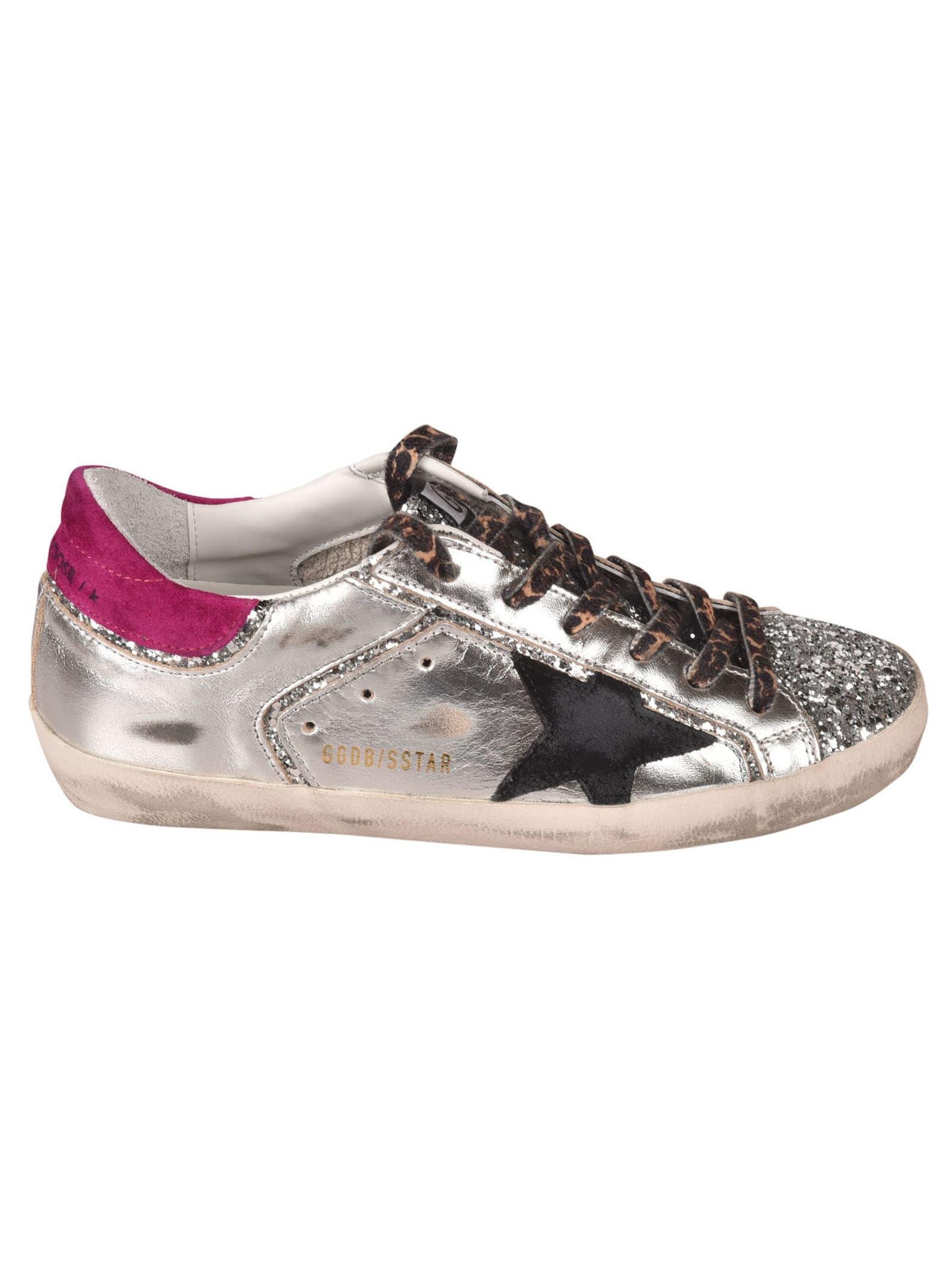 Golden Goose Super-star Double Quarter Sneakers