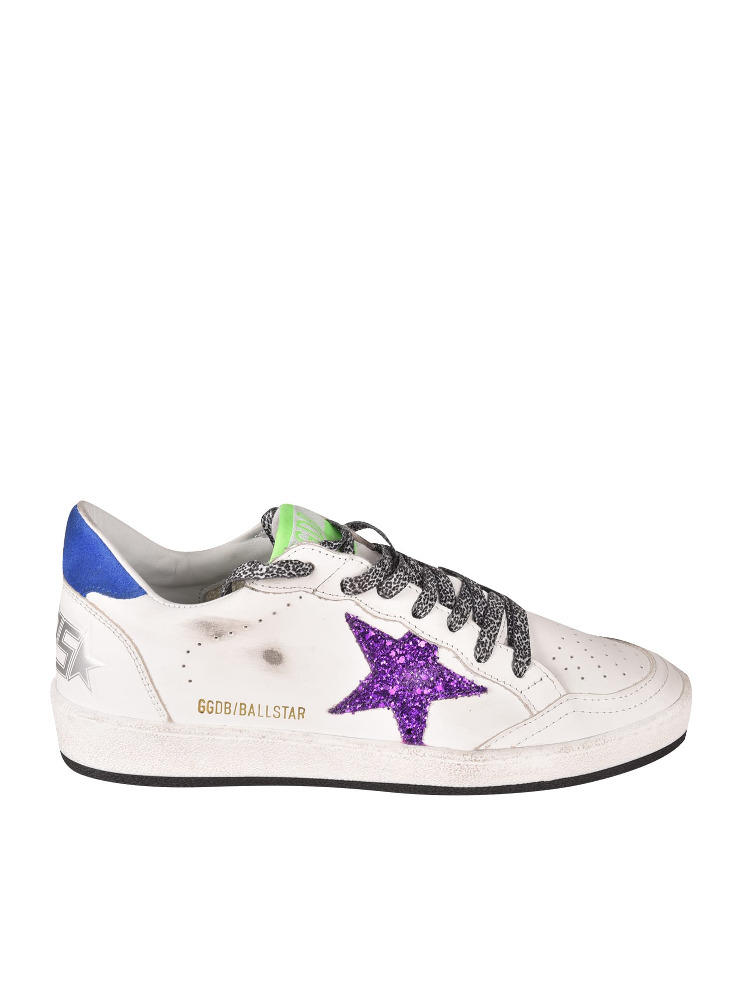 Buy Golden Goose Ballstar Glitter Sneakers online, shop Golden Goose shoes with free shipping