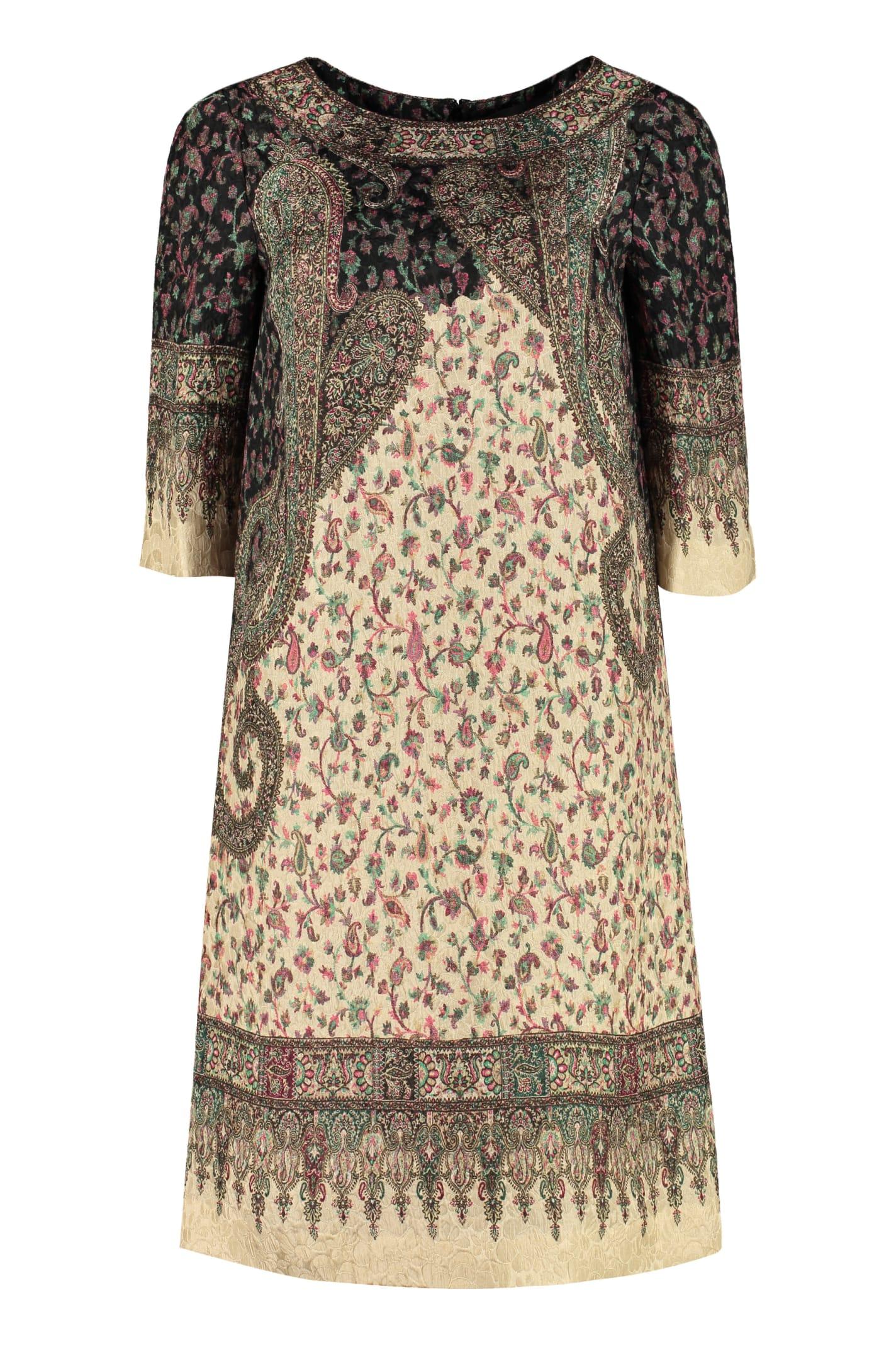 Etro Paisley Tunic Dress
