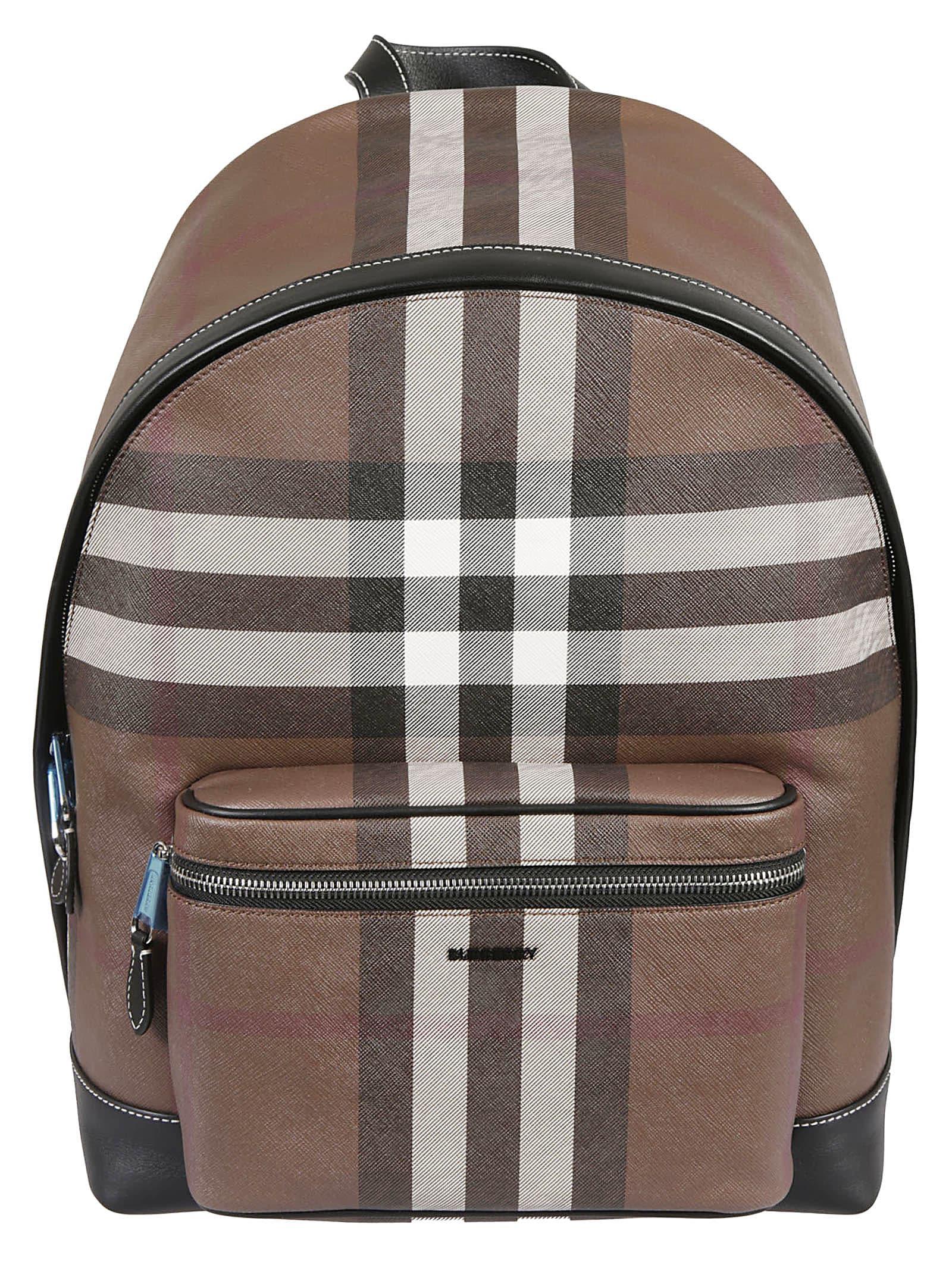 Burberry Jett Backpack In Dark Birch Brown