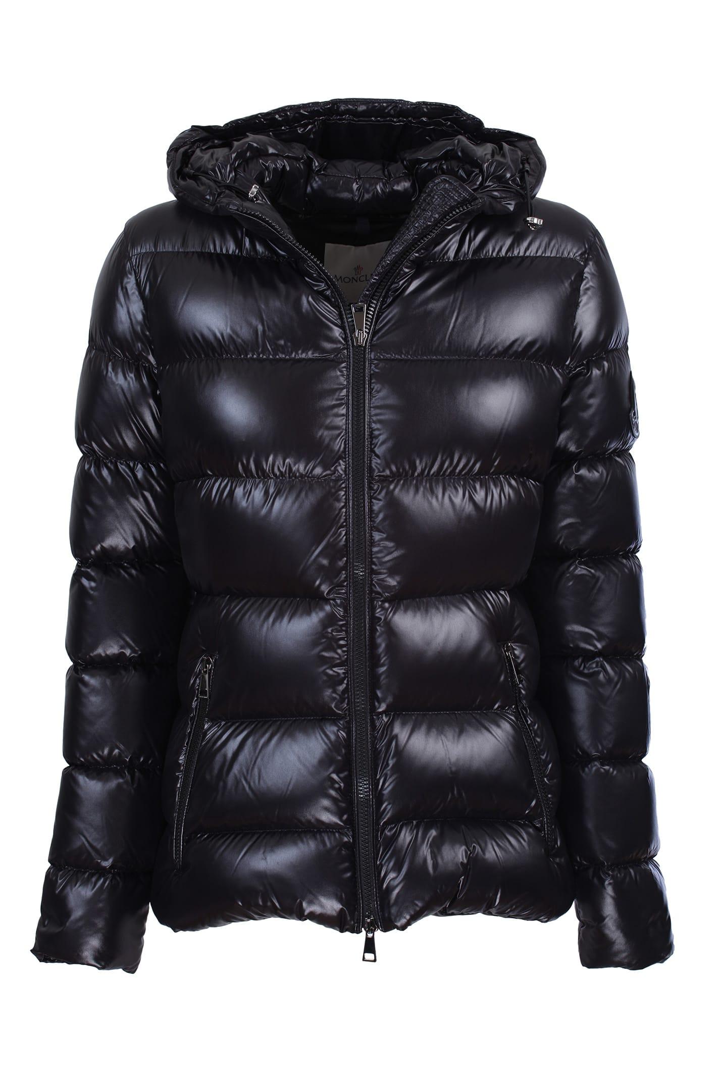Moncler Rhinestone nylon laqué jacket
