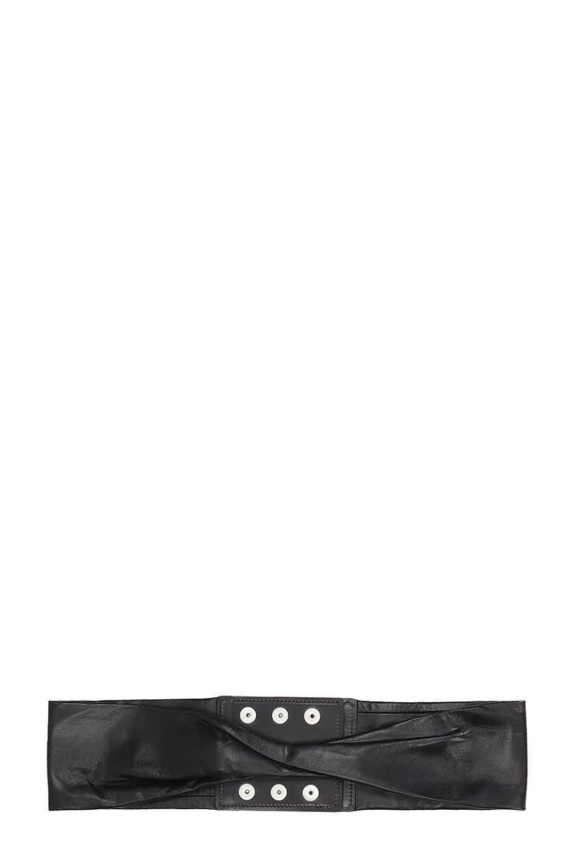 IRO Norea Belts In Black Leather