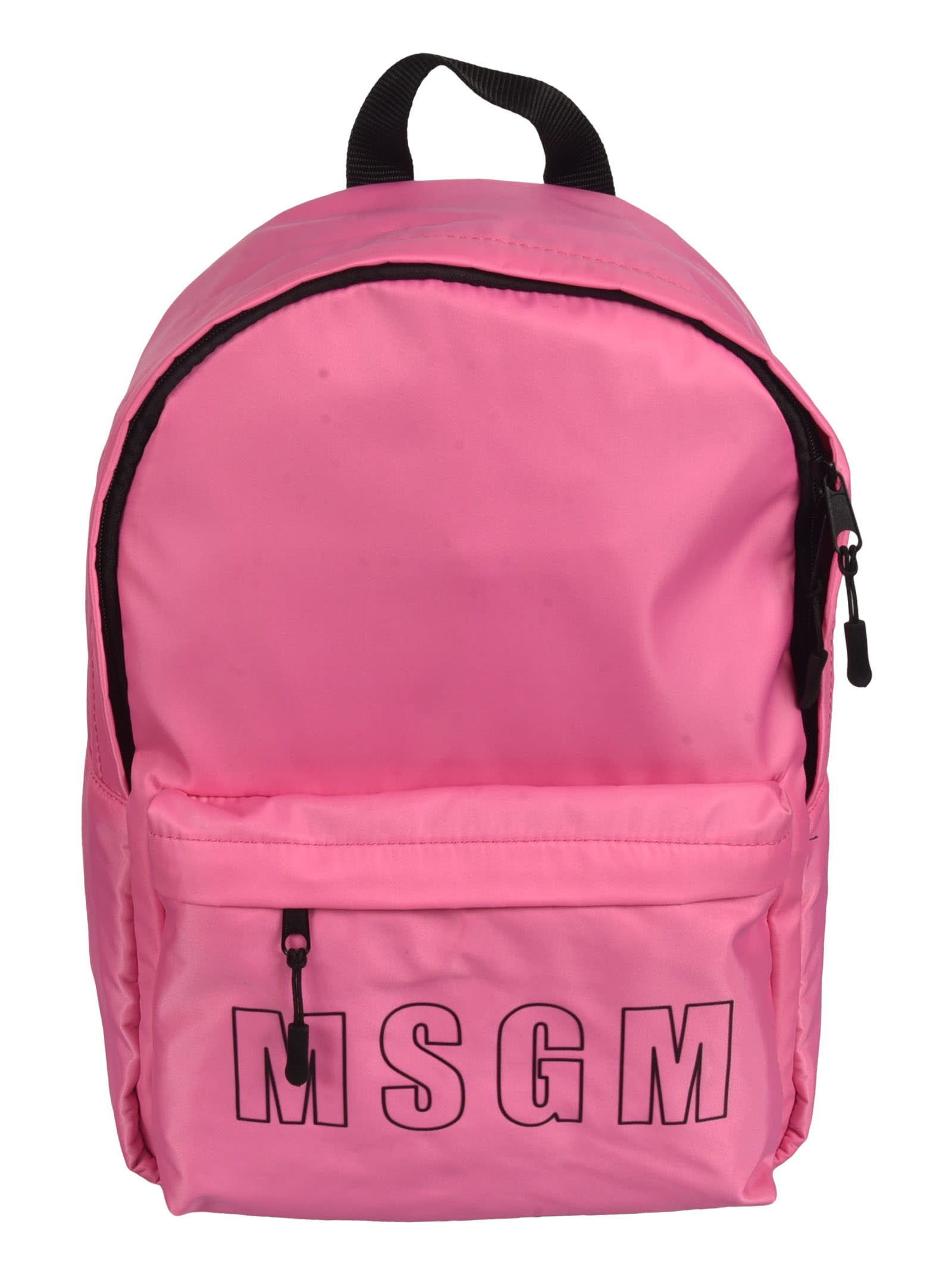 Msgm PLAIN LOGO BACKPACK