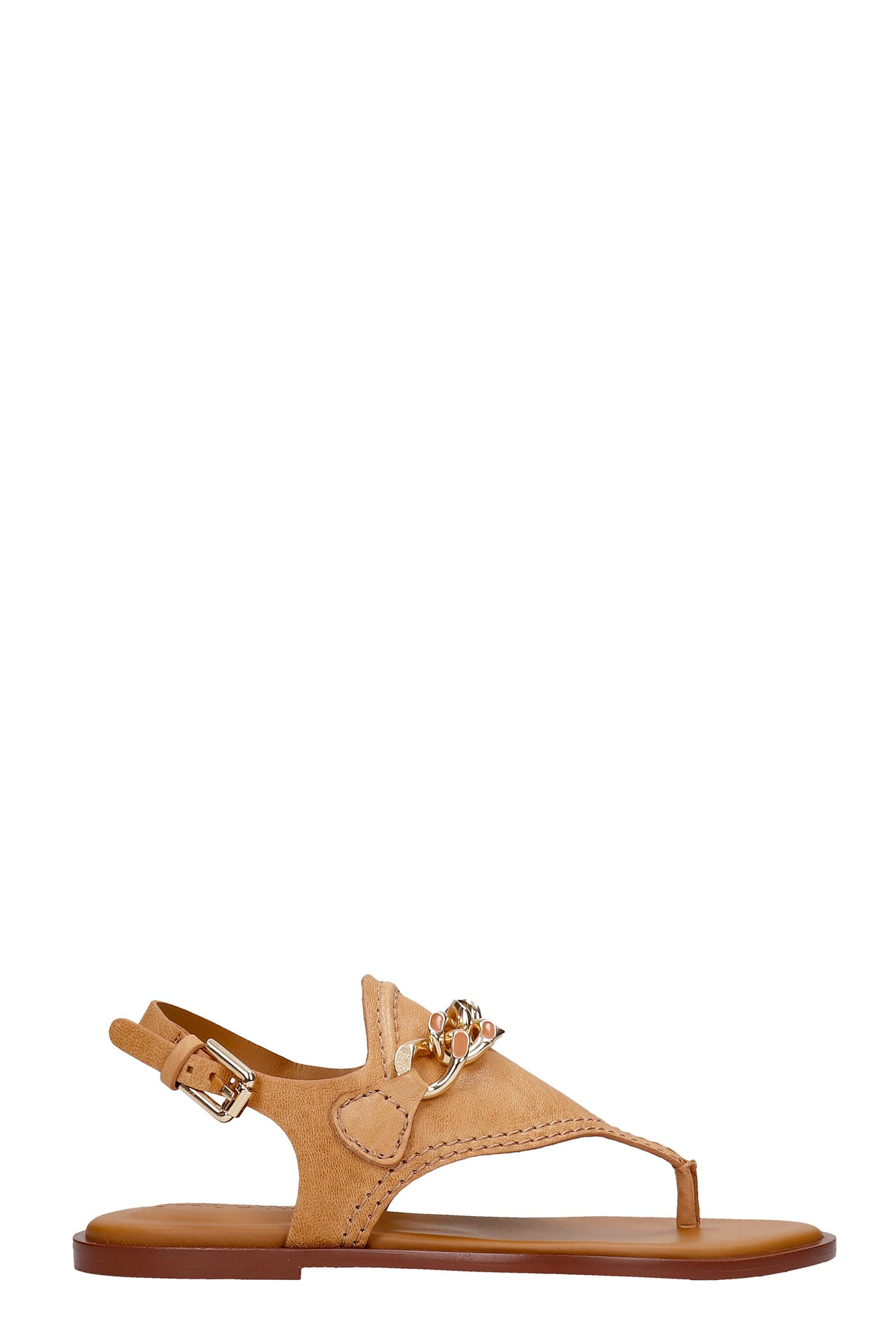 See By Chloé Leathers MAHE FLATS IN LEATHER COLOR LEATHER
