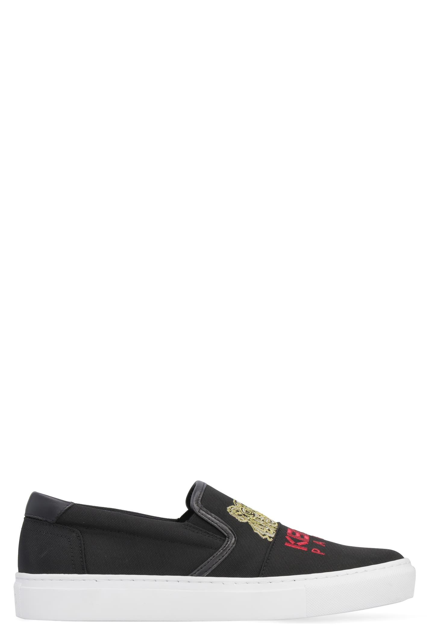 028da560f0 Kenzo K-skate Tiger Slip-on Sneakers