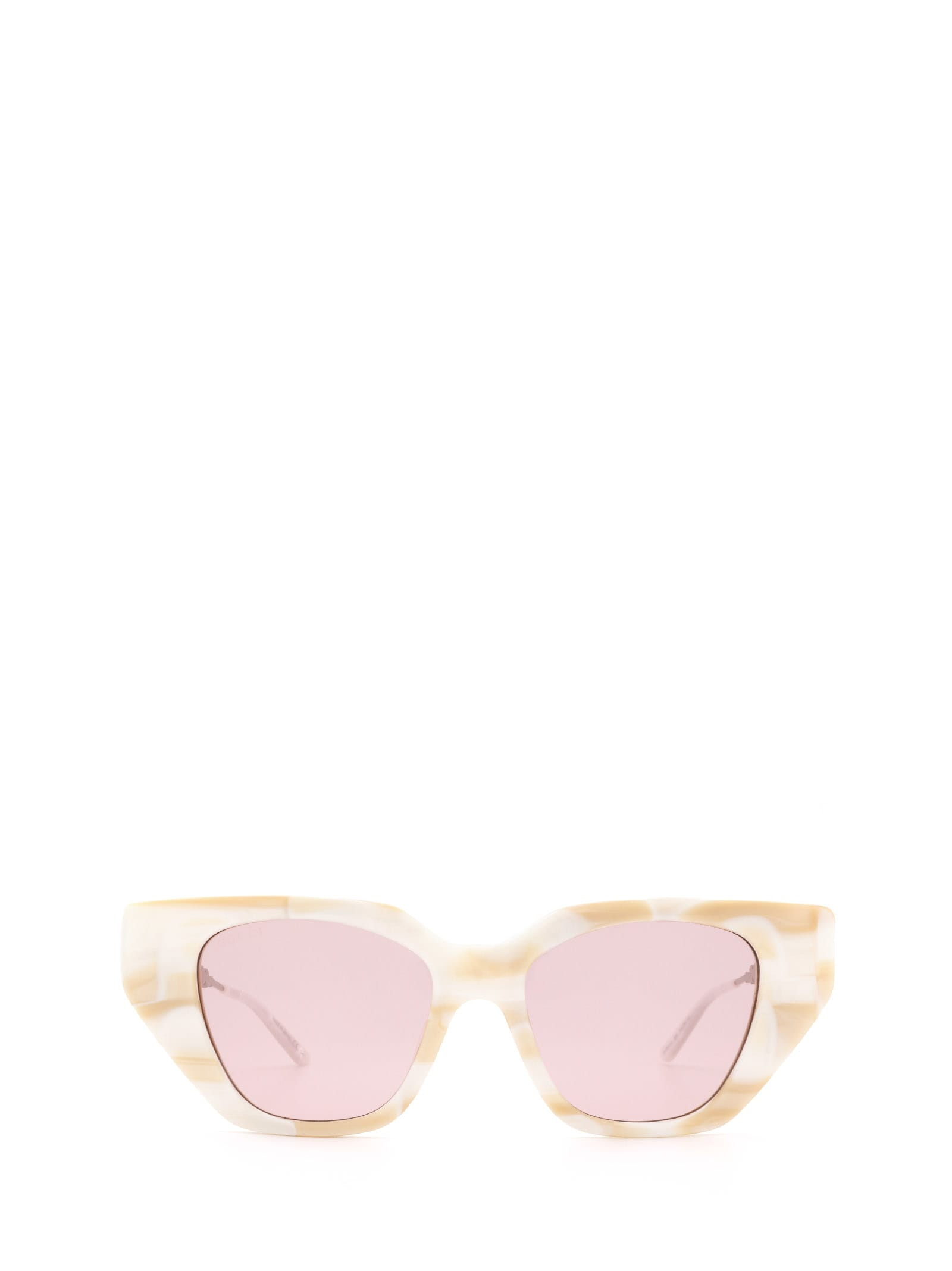 Gucci Gucci Gg0641s White Sunglasses