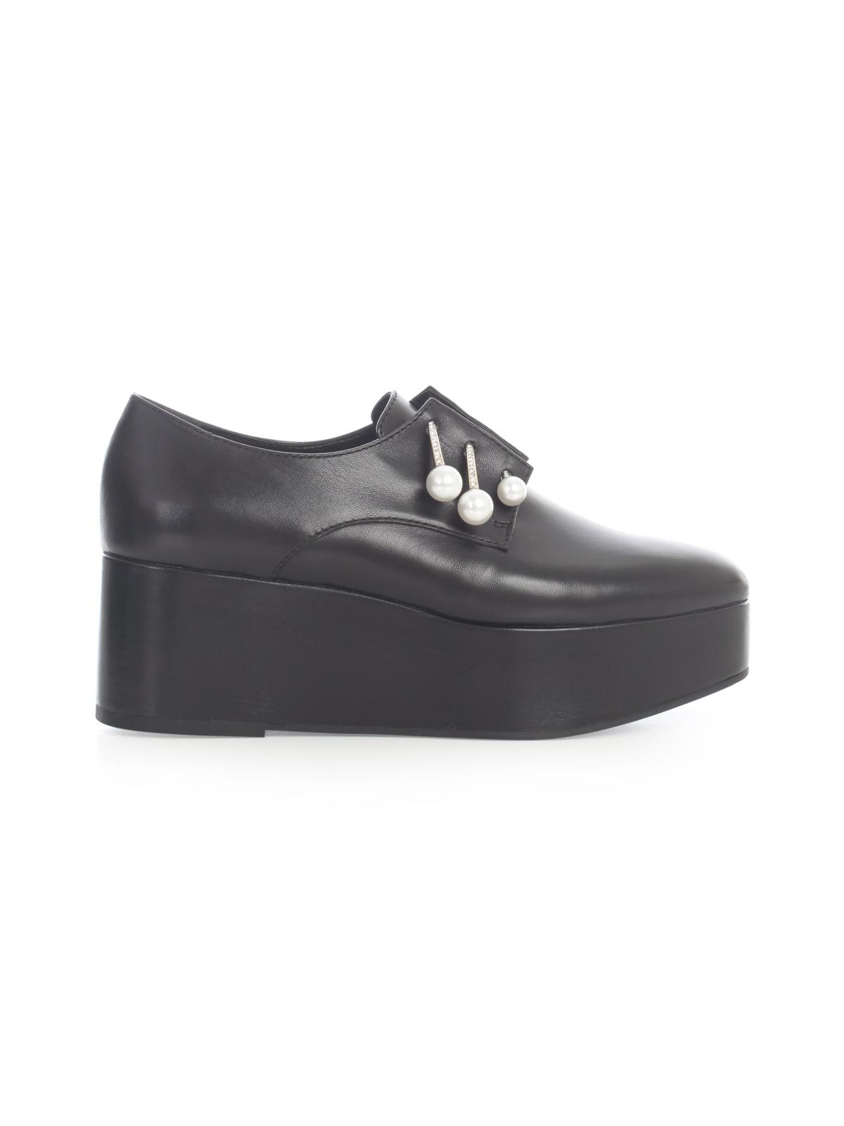 Matilde Shoes W/high Plateau