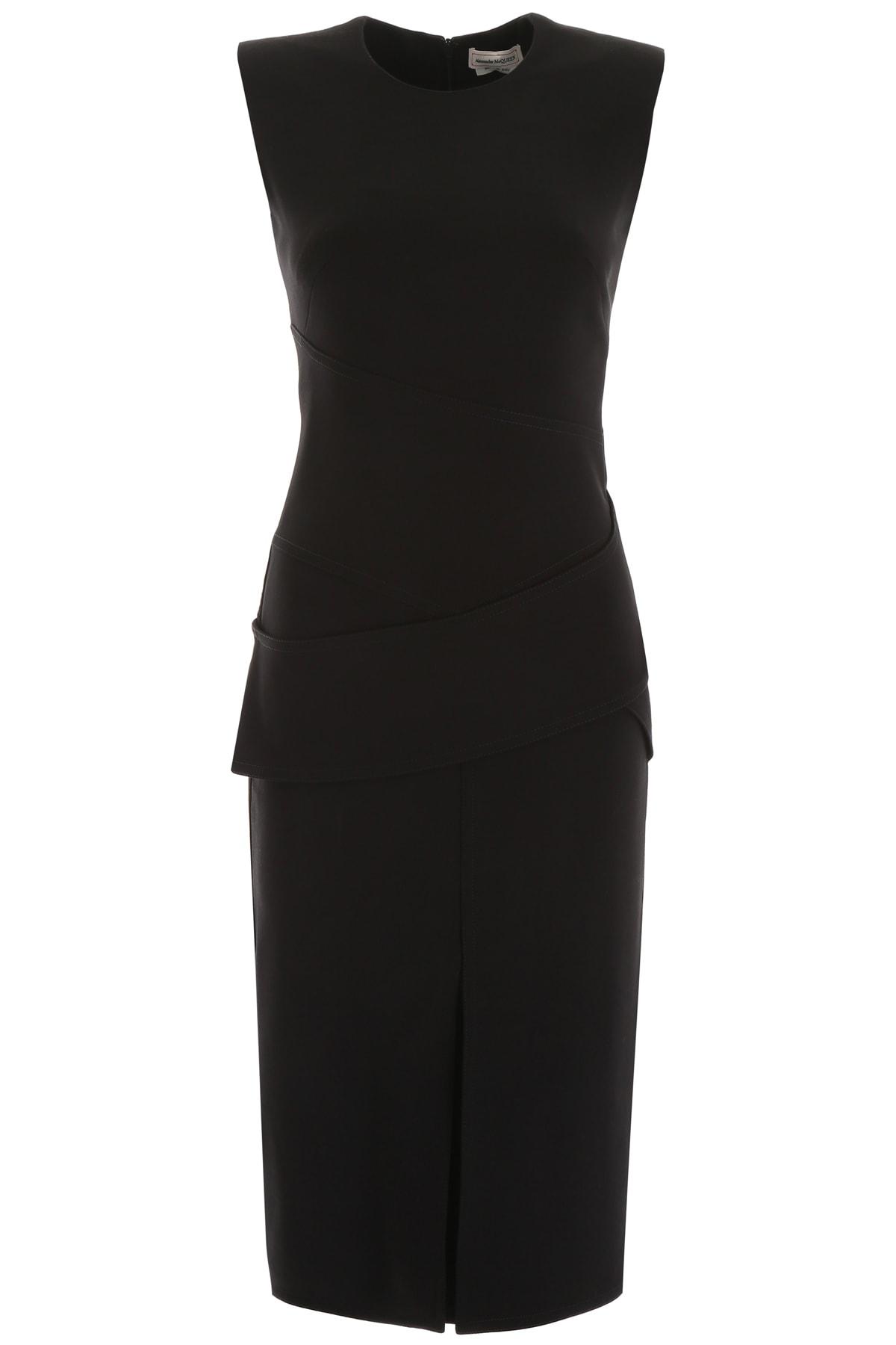 Buy Alexander McQueen Midi Dress online, shop Alexander McQueen with free shipping