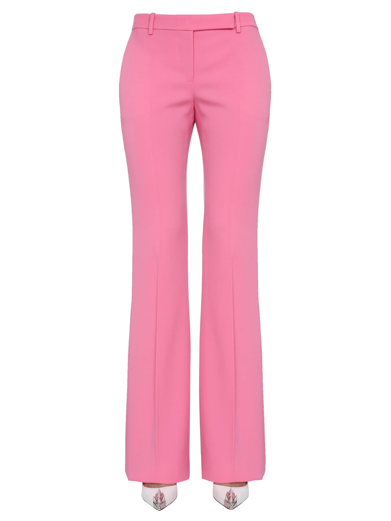 Alexander Mcqueen Flared pants BOOTCUT TROUSERS