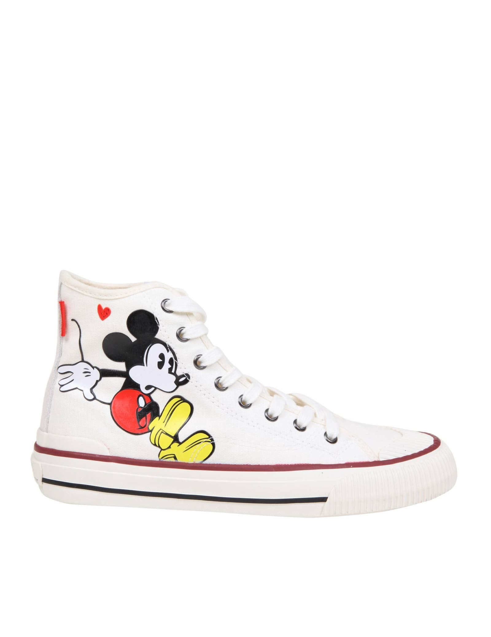 M.o.a. Master Of Arts MOA SNEAKERS IN FABRIC WITH MICKEY MOUSE PRINT
