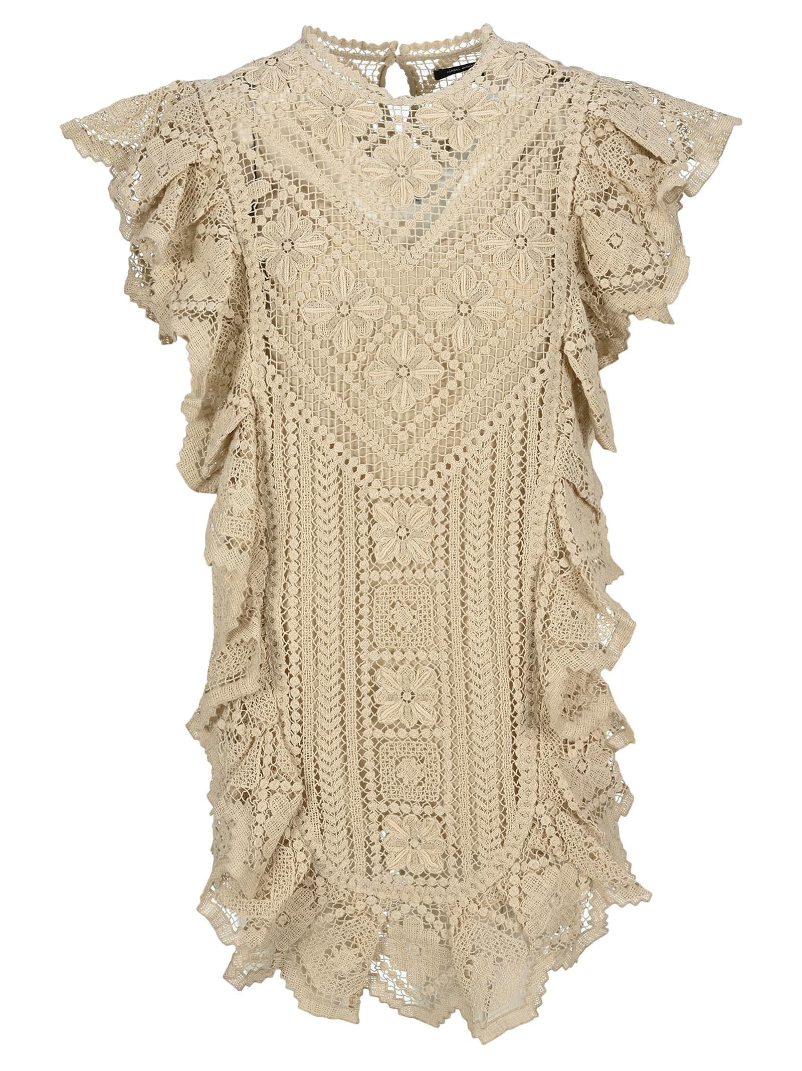 Buy Isabel Marant Zanetti Lace Dress online, shop Isabel Marant with free shipping
