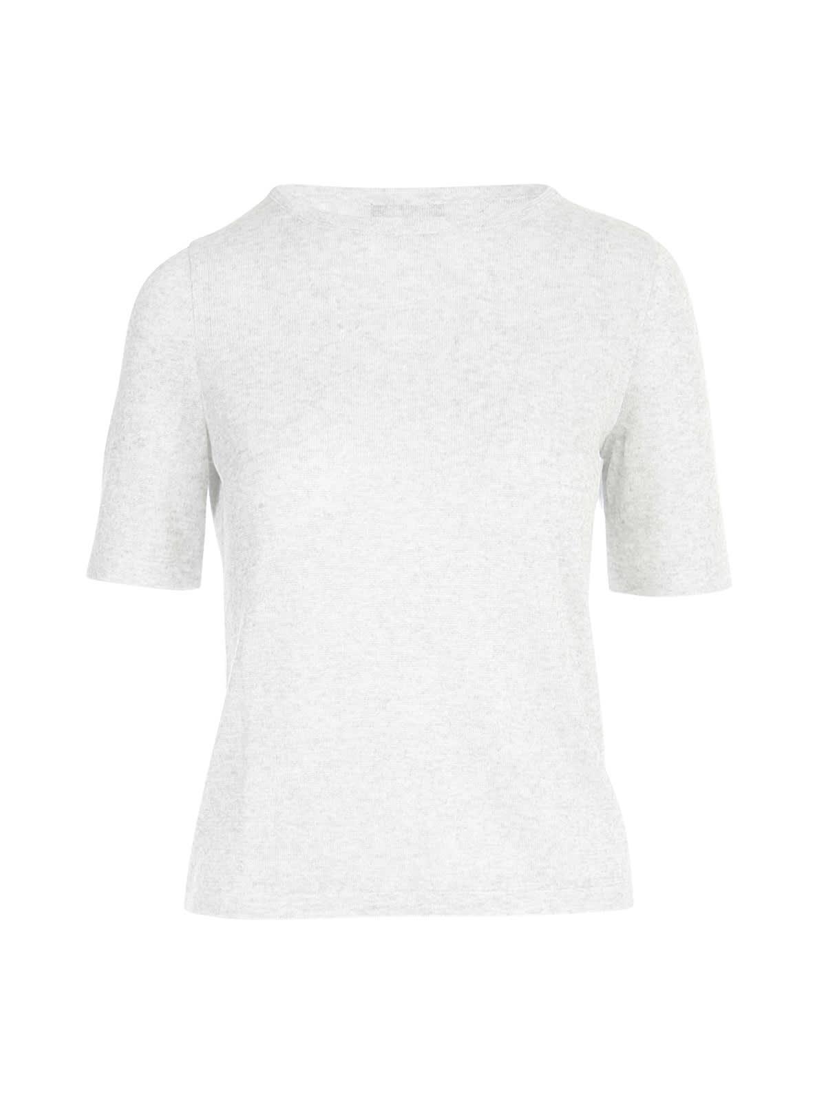 Lurex Crew Neck S/s T-shirt
