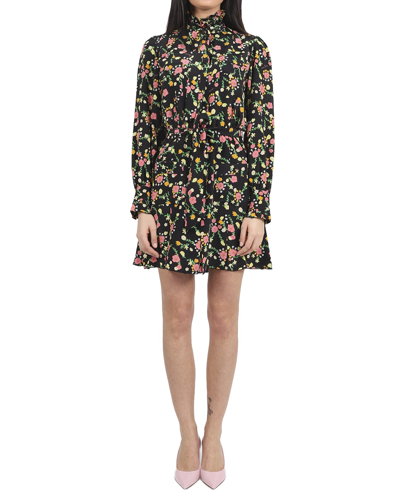 Buy Marc Jacobs Floral Shirt Dress online, shop Marc Jacobs with free shipping