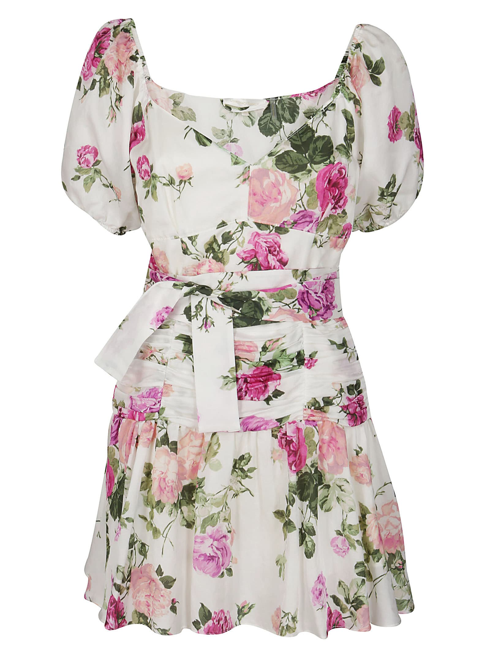 Buy Multicolor Cotton-blend Ambrette Dress online, shop LoveShackFancy with free shipping
