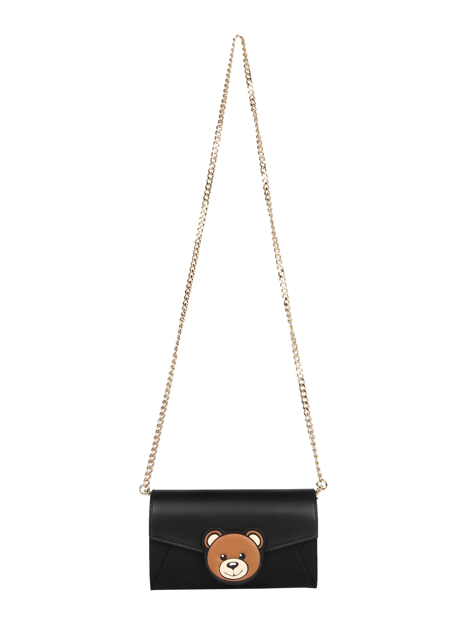 Moschino INSIDE OUT TEDDY CROSSBODY BAG