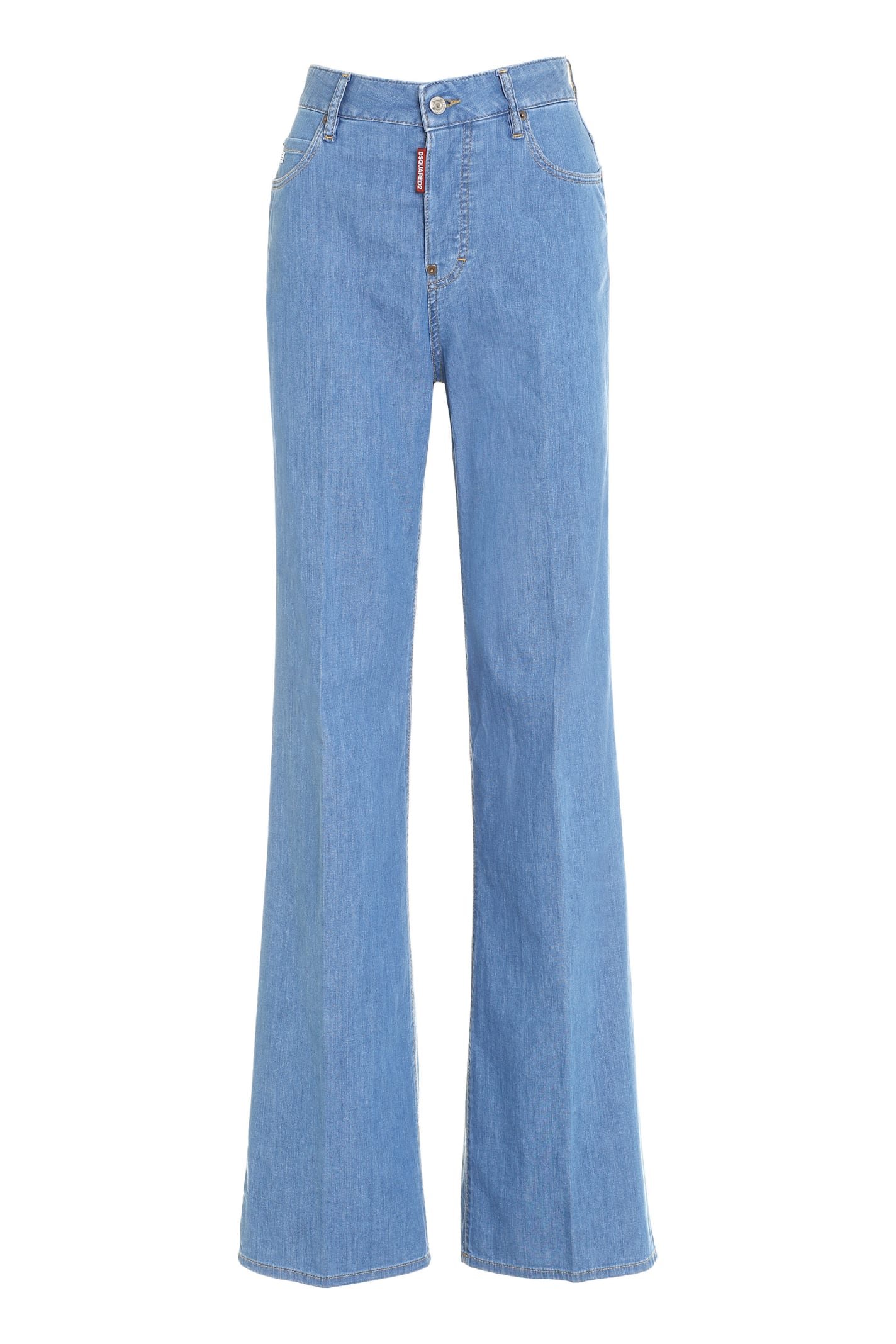 Dsquared2 Bohemian Wide Leg Jeans