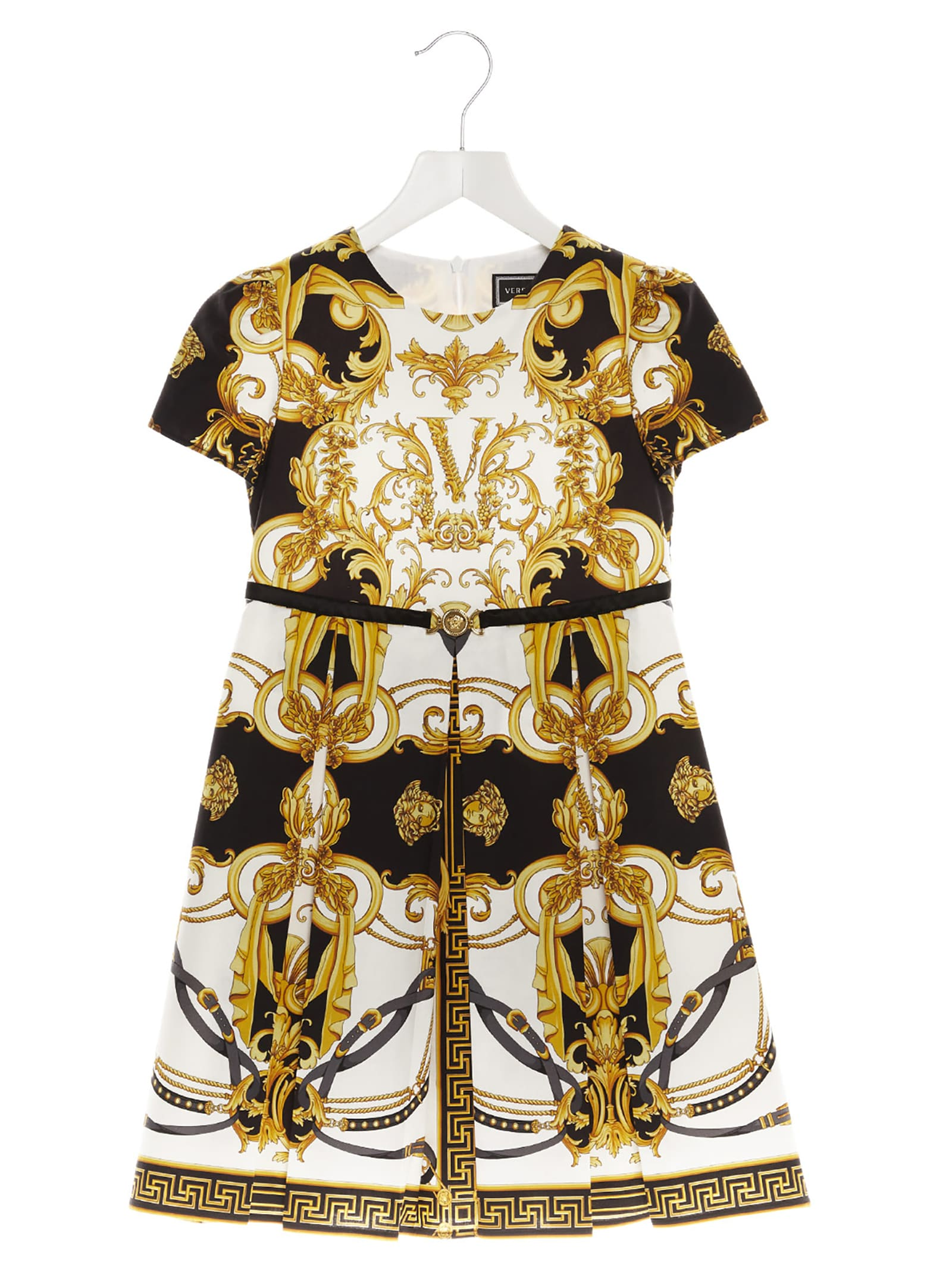 Buy Young Versace barocco Dress online, shop Young Versace with free shipping