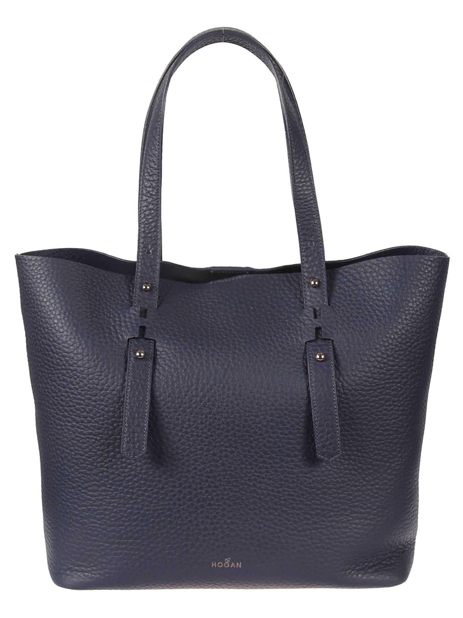 Hogan Matelassé Shopper Bag