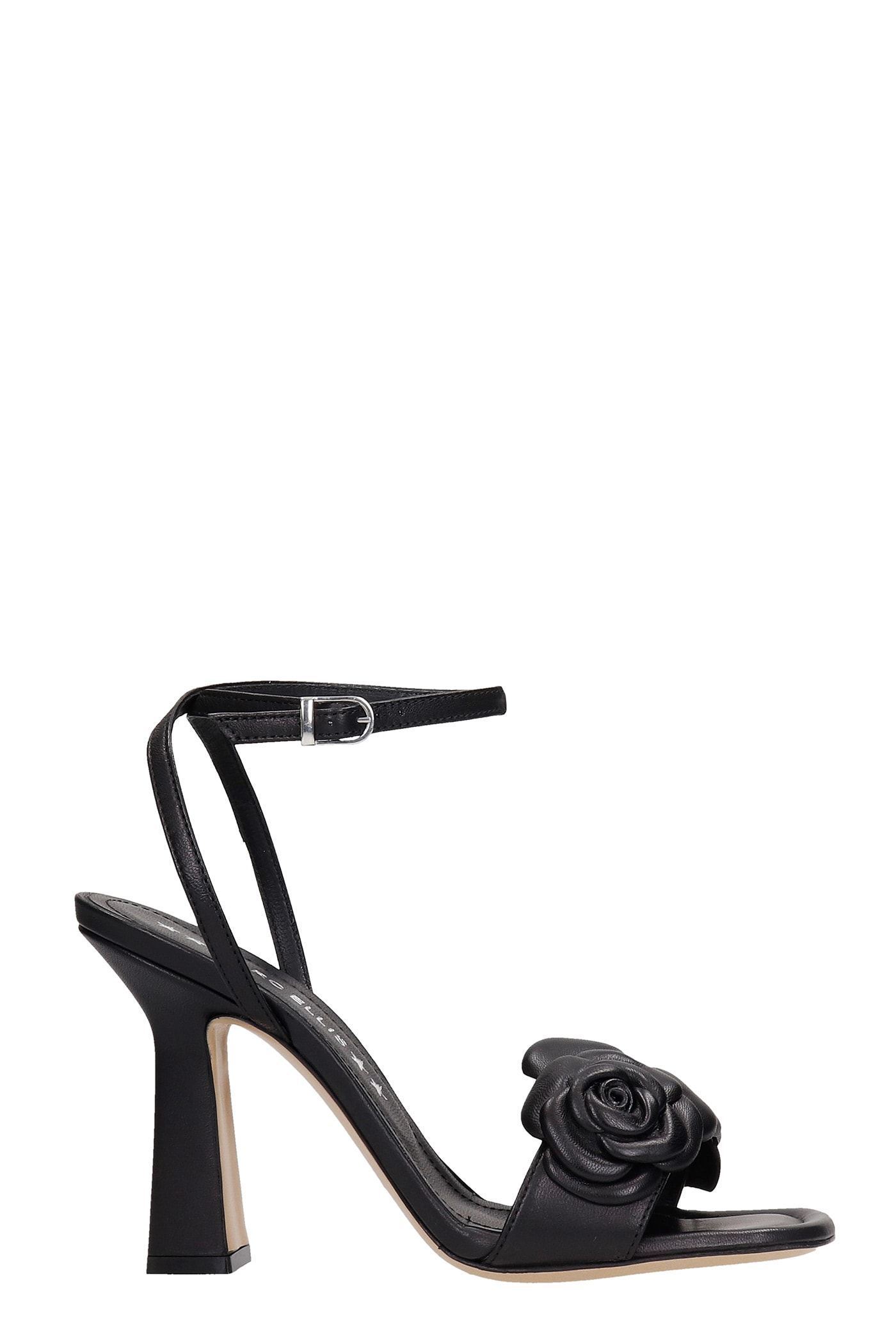 Emily Sandals In Black Leather