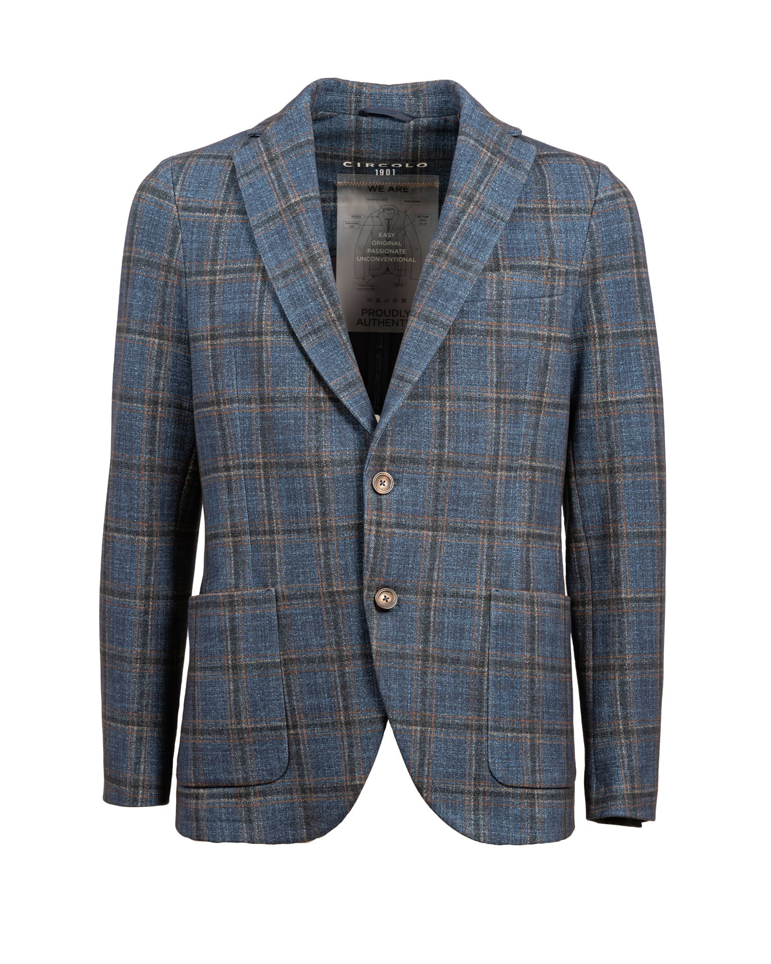 1901 Circle checked jacket