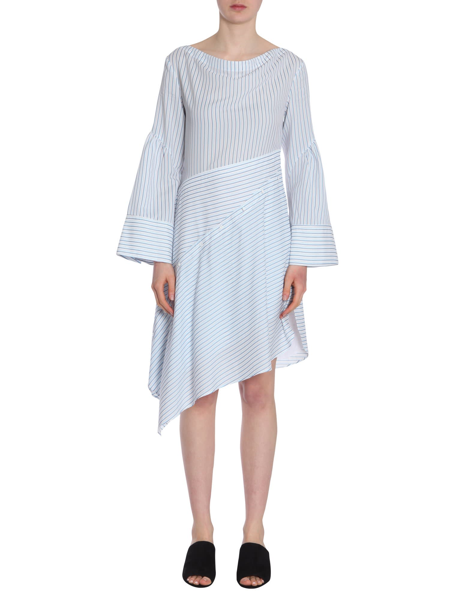 Buy 3.1 Phillip Lim Striped Shirt Dress online, shop 3.1 Phillip Lim with free shipping