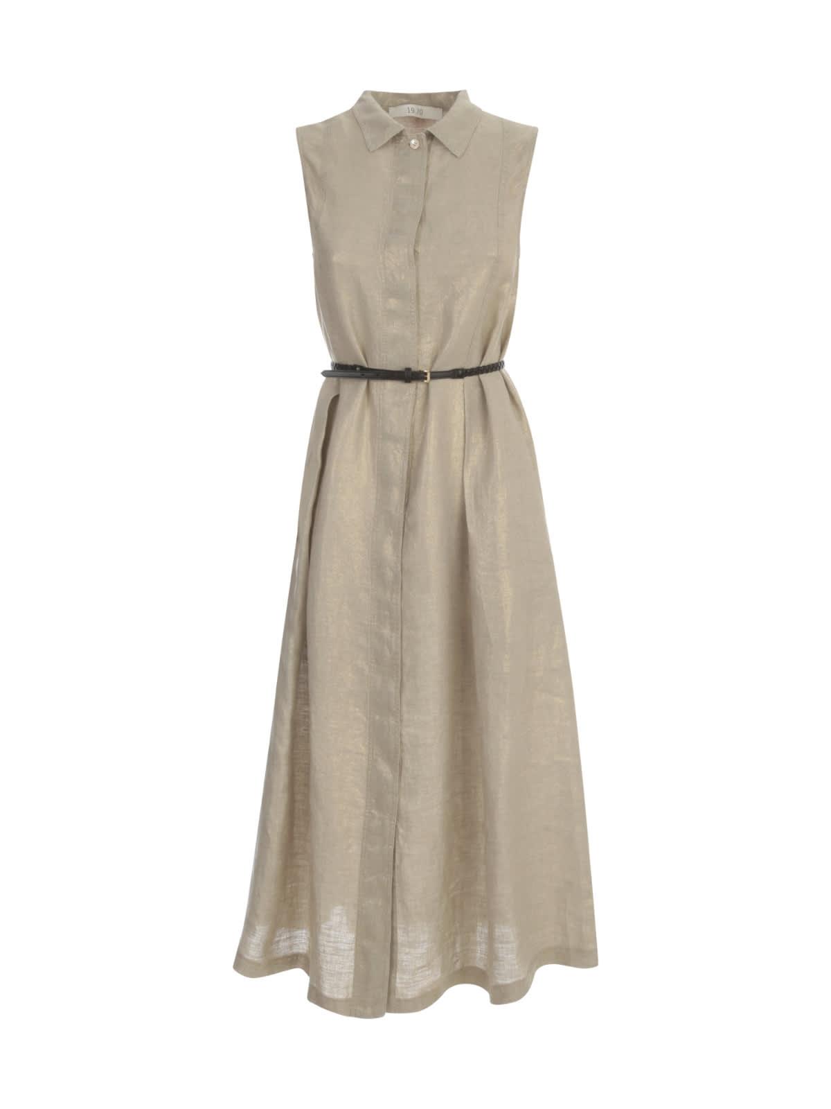 Buy 19.70 Nineteen Seventy Sleeveless Dress W/belt online, shop 19.70 Nineteen Seventy with free shipping