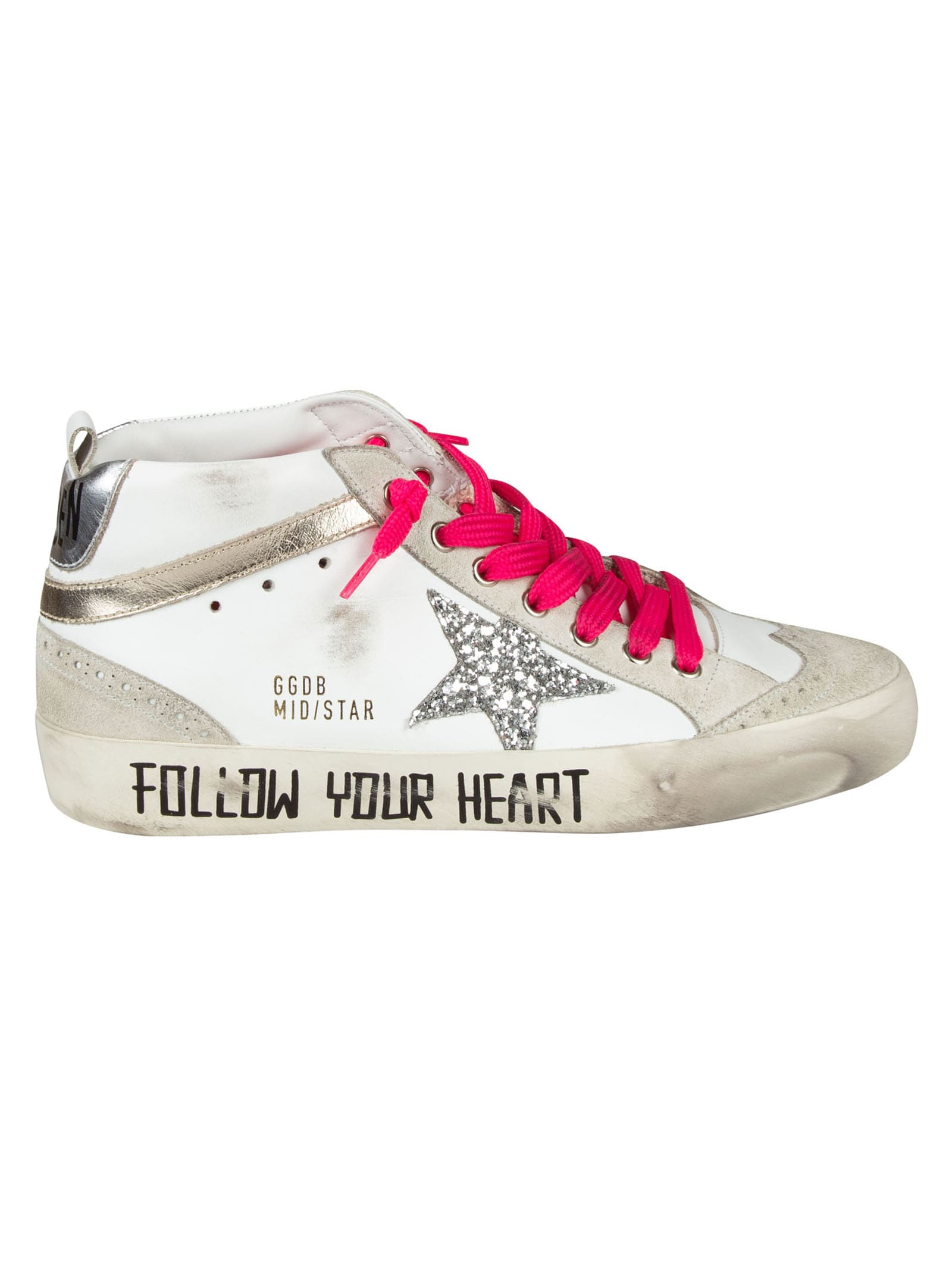 Golden Goose Mid-star Classic Sneakers