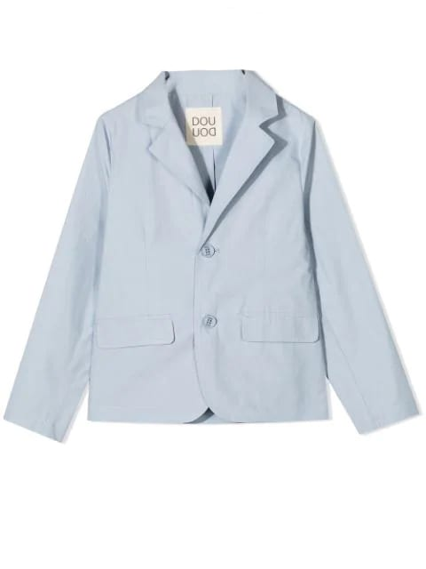 Douuod Cottons SINGLE-BREASTED BLAZER