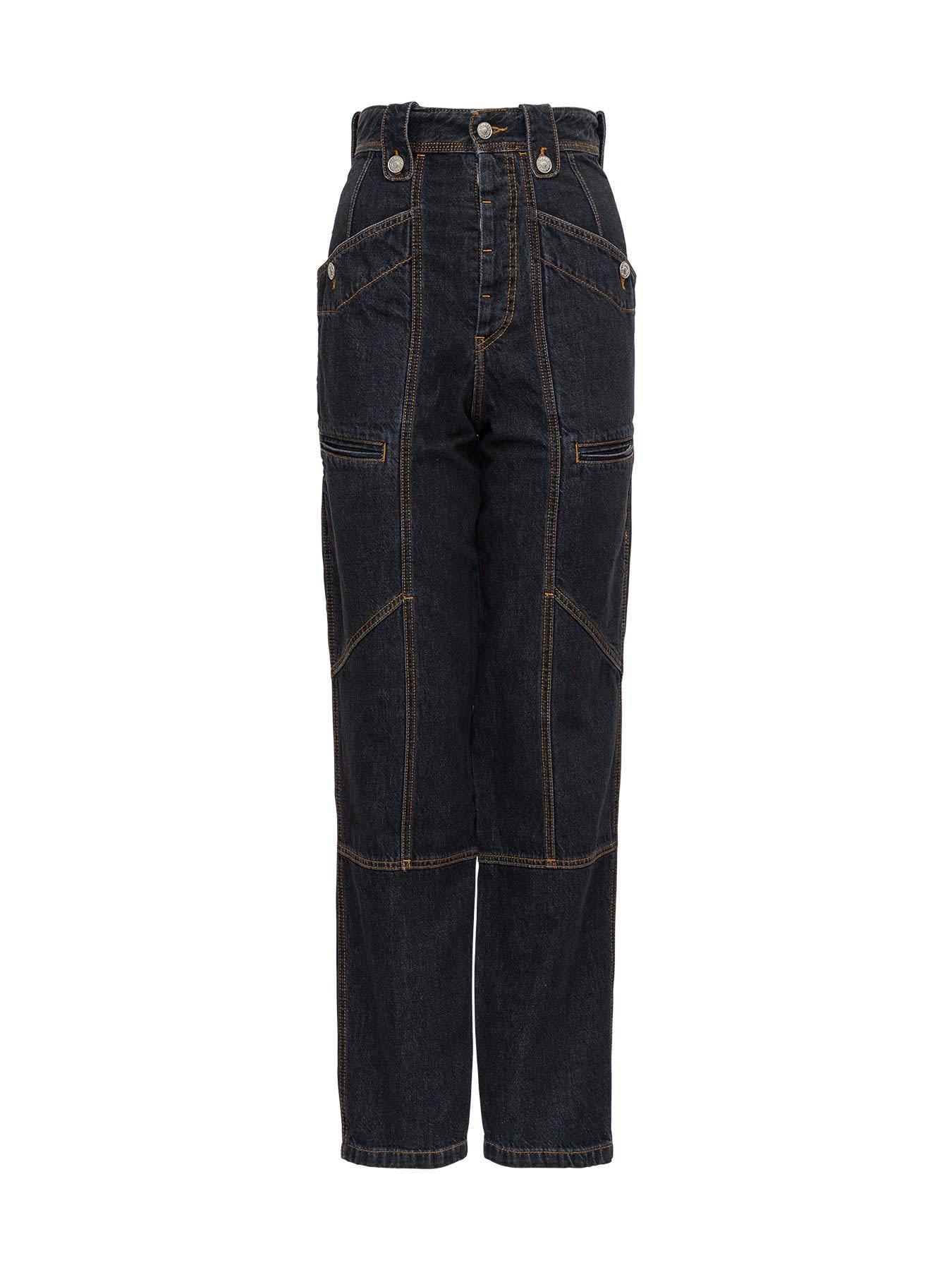 Isabel Marant Étoile Wide Leg Jeans