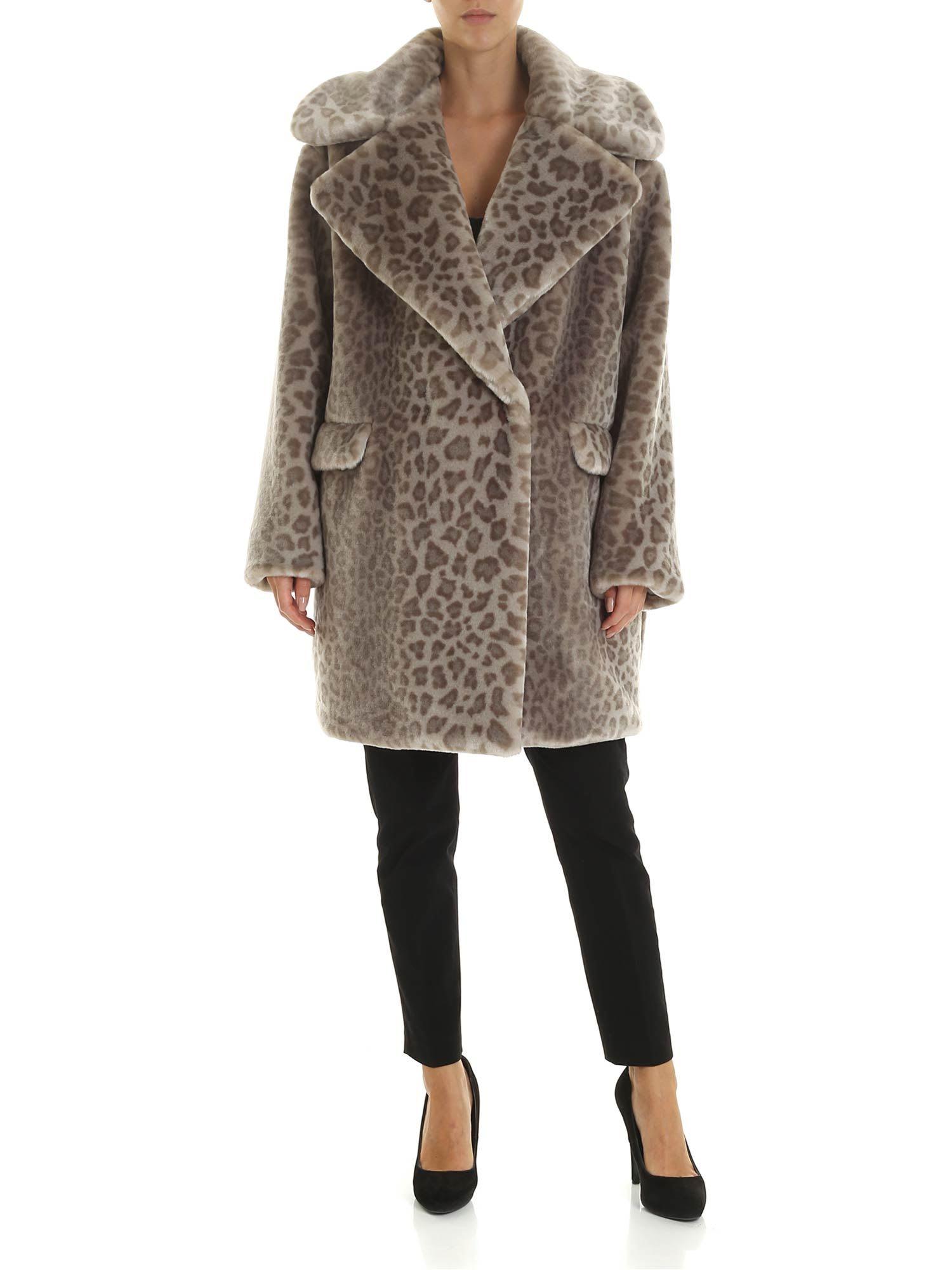 Tagliatore Astrid/p Fur Coat