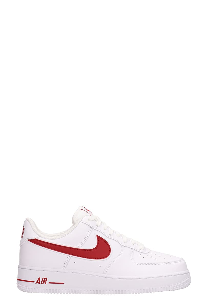 Sneakers White Force Air Nike 3 Leather 1 07 fgy7b6