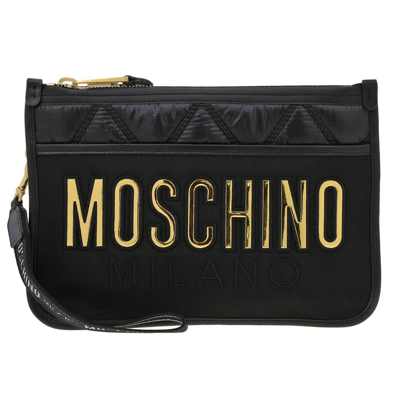46bb8ab6668a1 Moschino Moschino Couture Clutch Shoulder Bag Women Moschino Couture ...