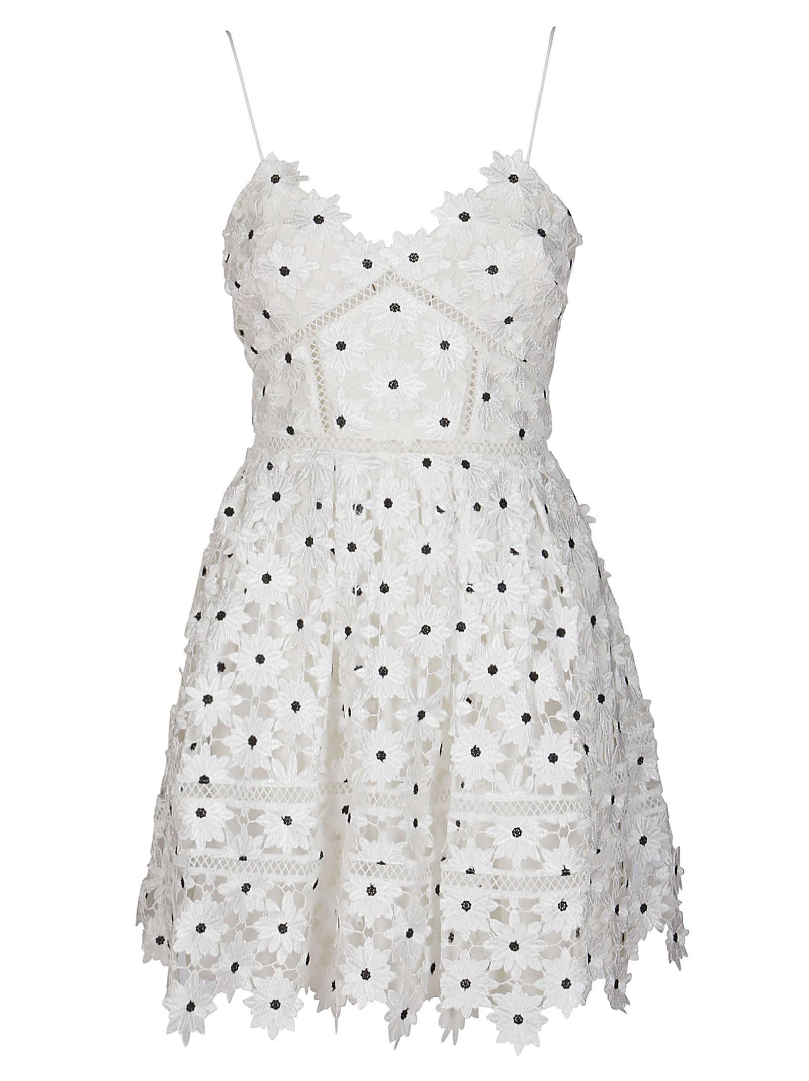 Self-Portrait Mini dresses WHITE DAISY LACE AZALEA MINI DRESS